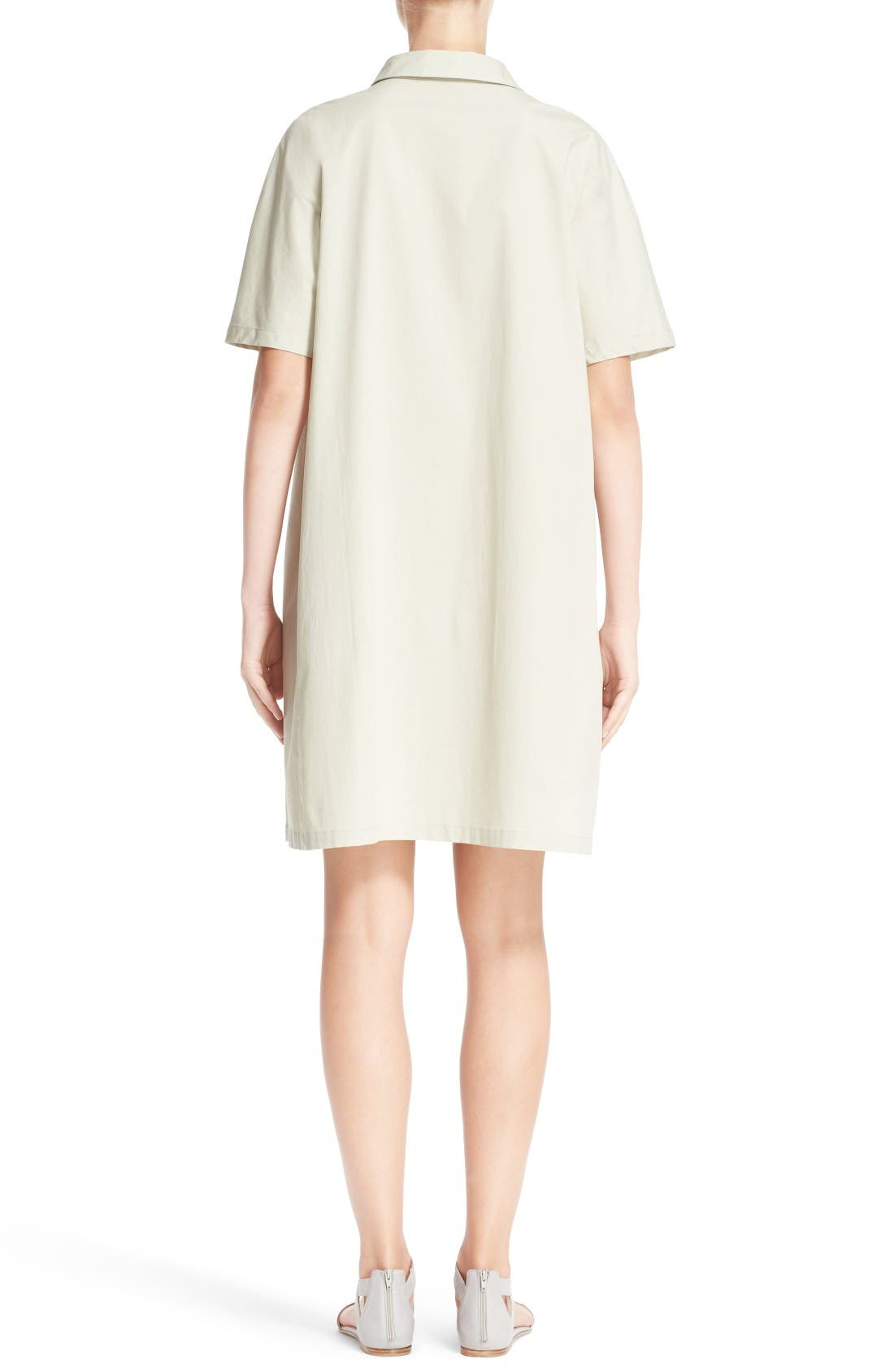 Alternate Image 2  - Fabiana Filippi Grosgrain Trim Shirtdress