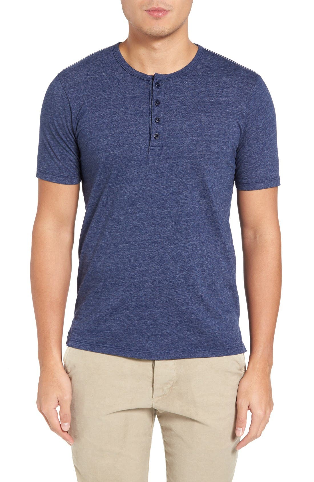 Alternate Image 1 Selected - Goodlife Split Hem Henley