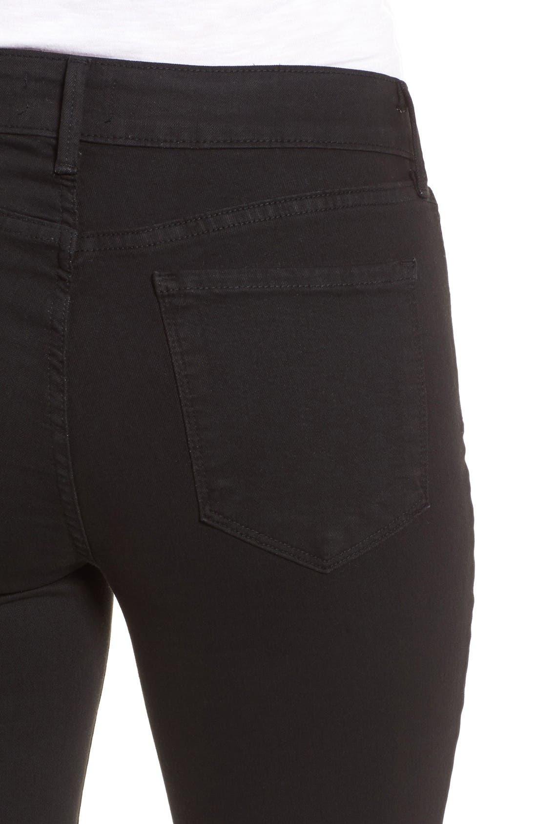 Alternate Image 4  - NYDJ Ami Release Hem Stretch Skinny Jeans (Regular & Petite)