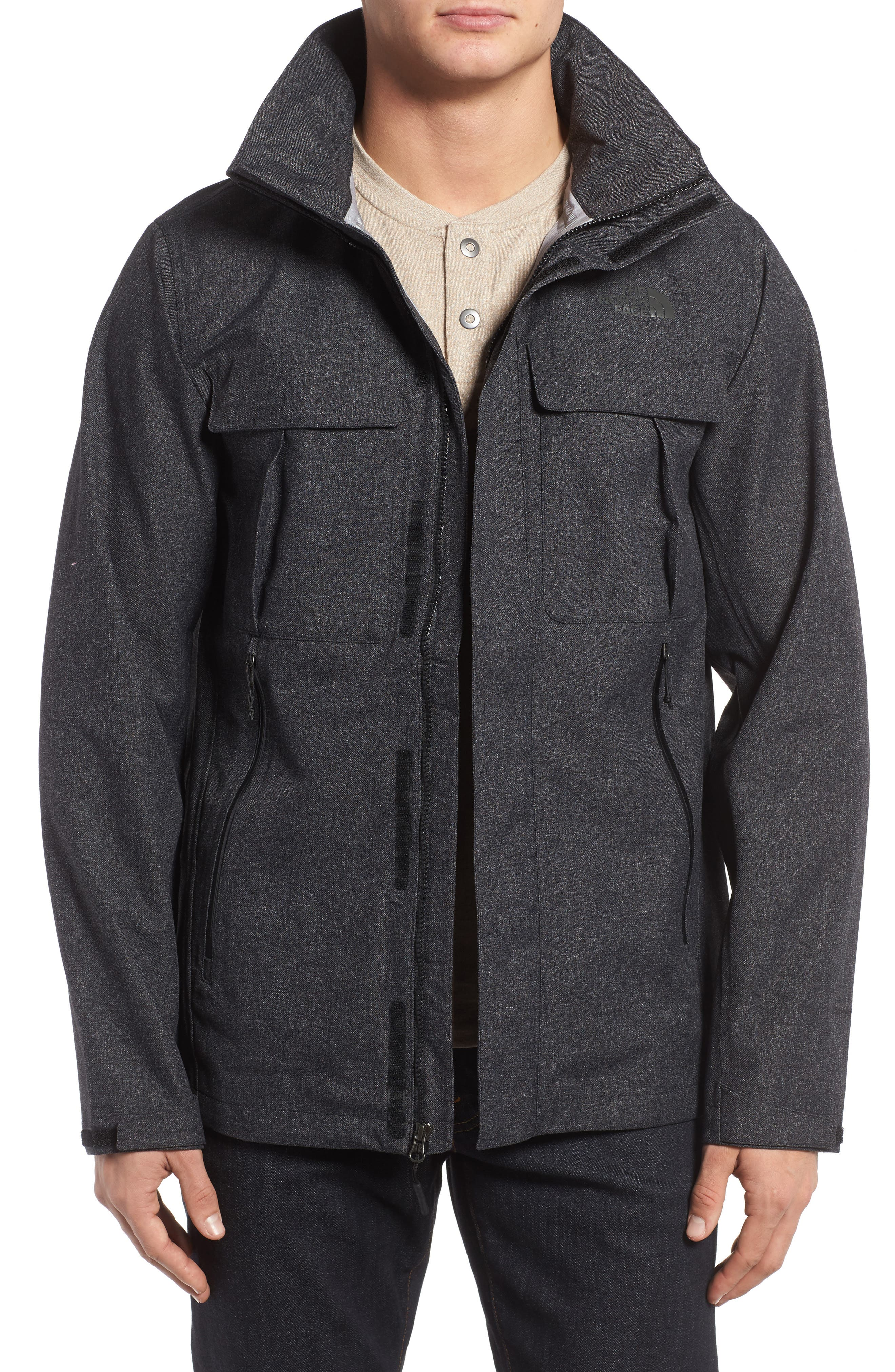 Kassler DryVent Field Jacket,                         Main,                         color, Tnf Black Heather