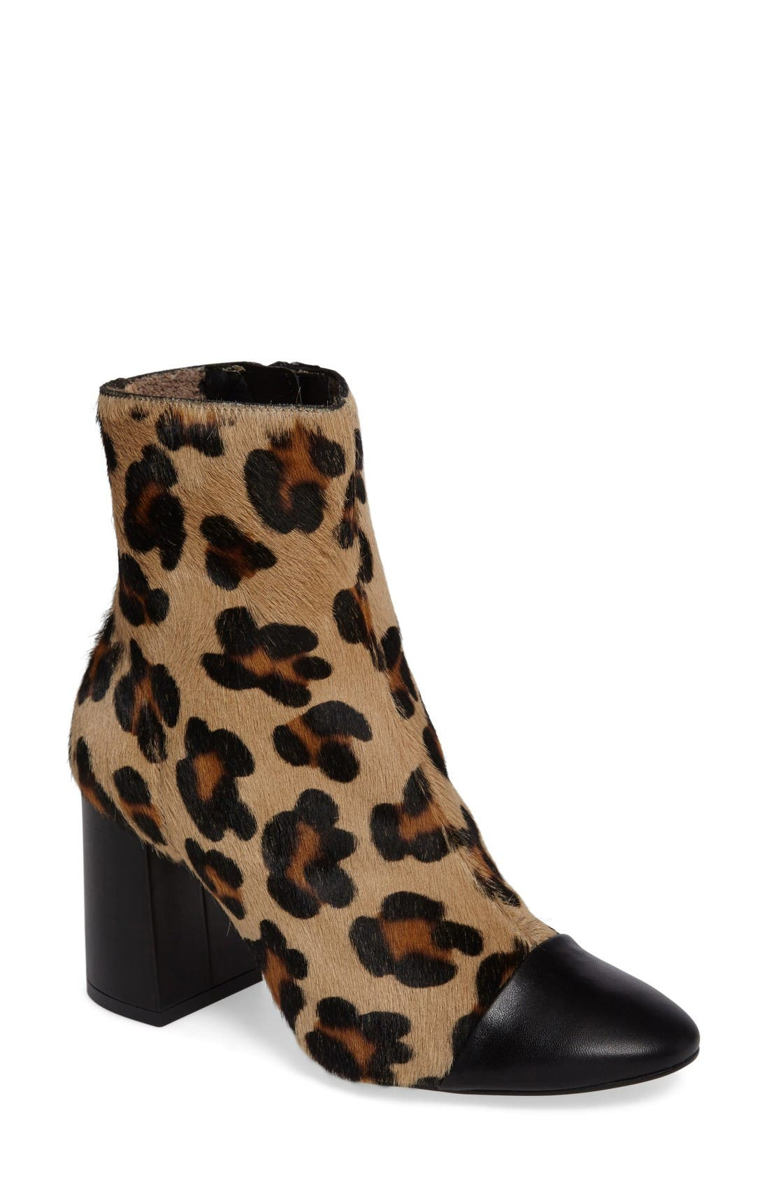 Topshop Happy Days Cap Toe Bootie (Women)