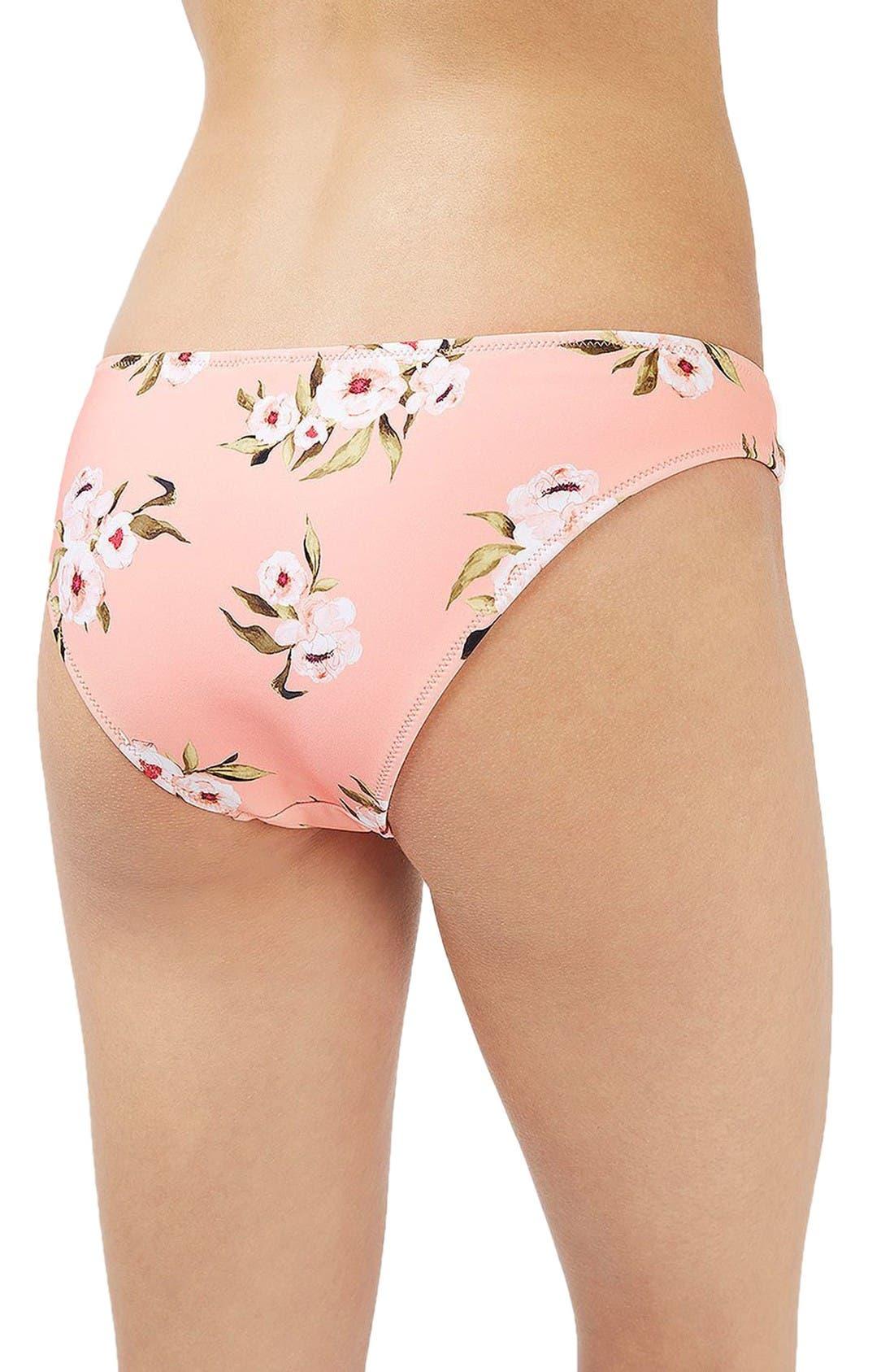 Alternate Image 3  - Topshop Posie Bikini Bottoms