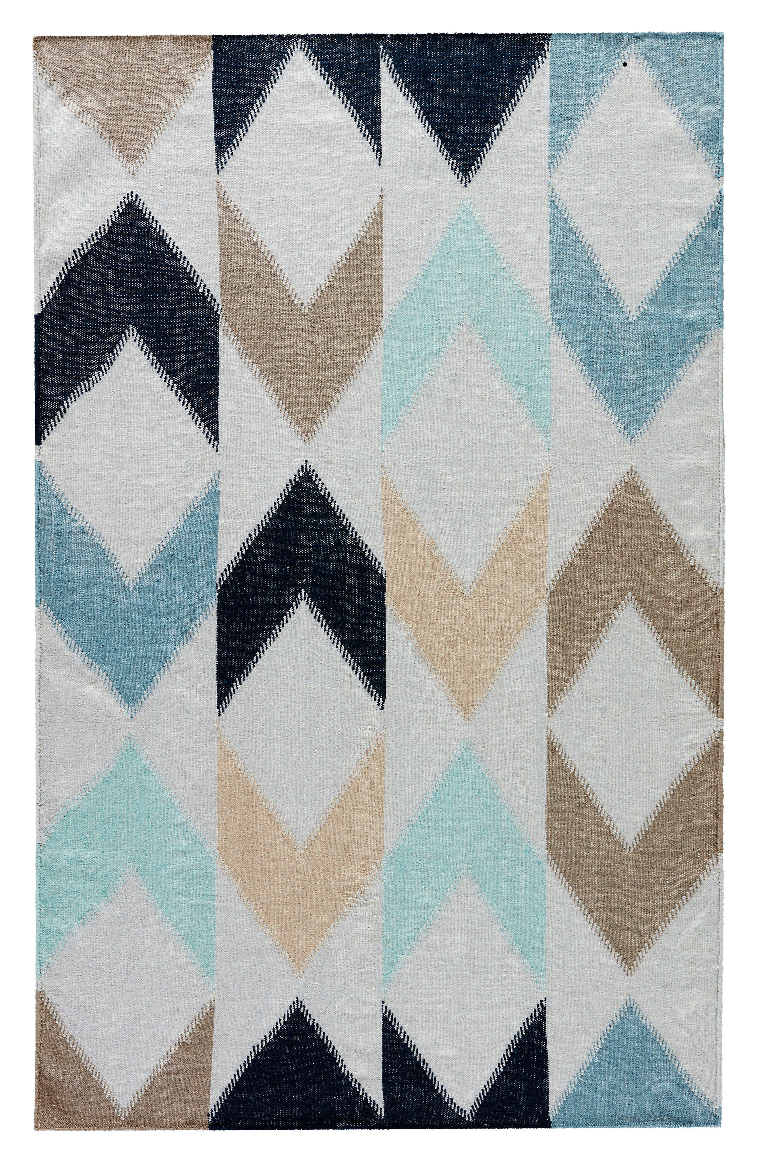 Arrow Indoor/Outdoor Rug,                         Main,                         color, Blue