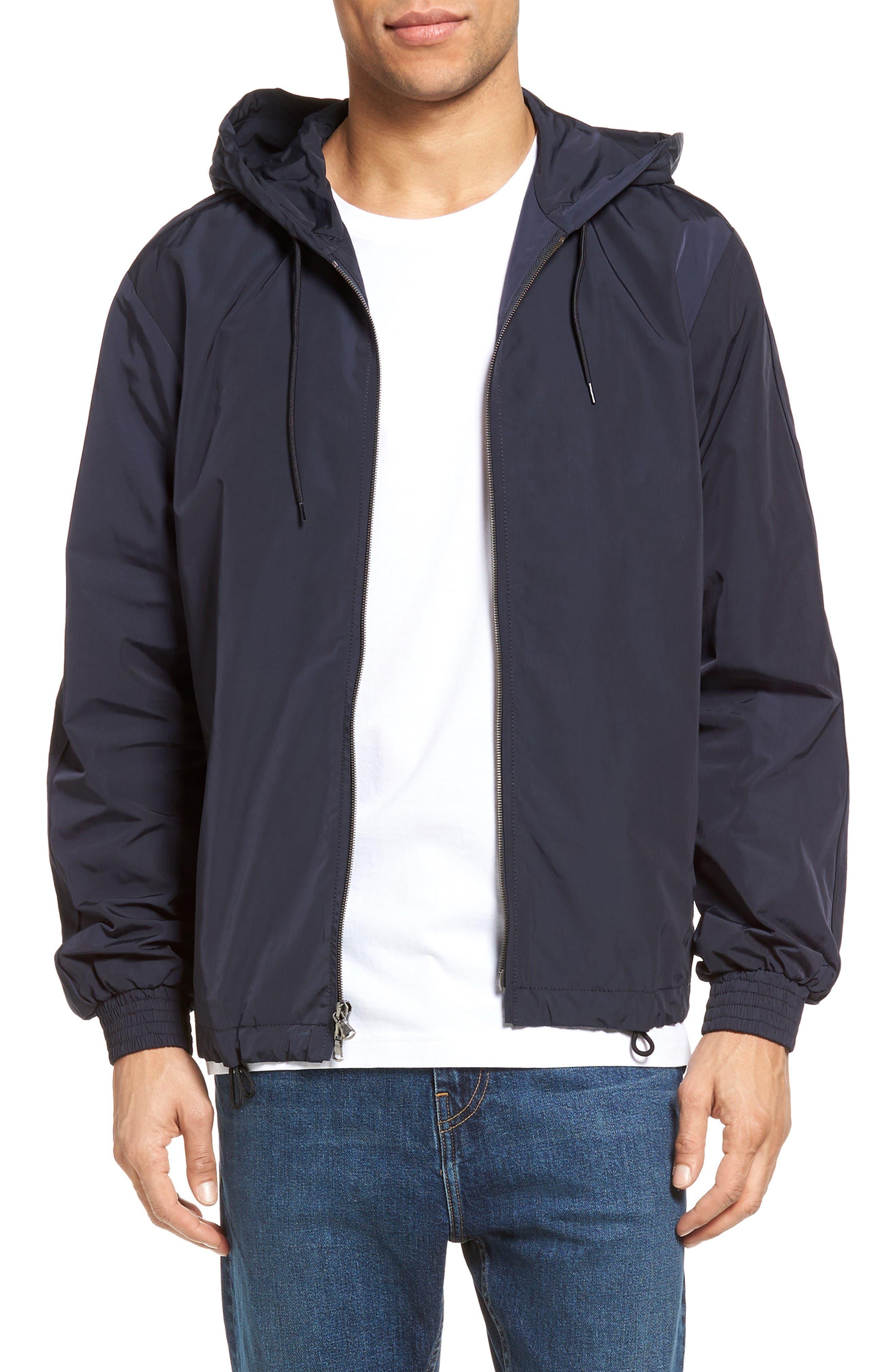 VINCE Hooded Track Jacket