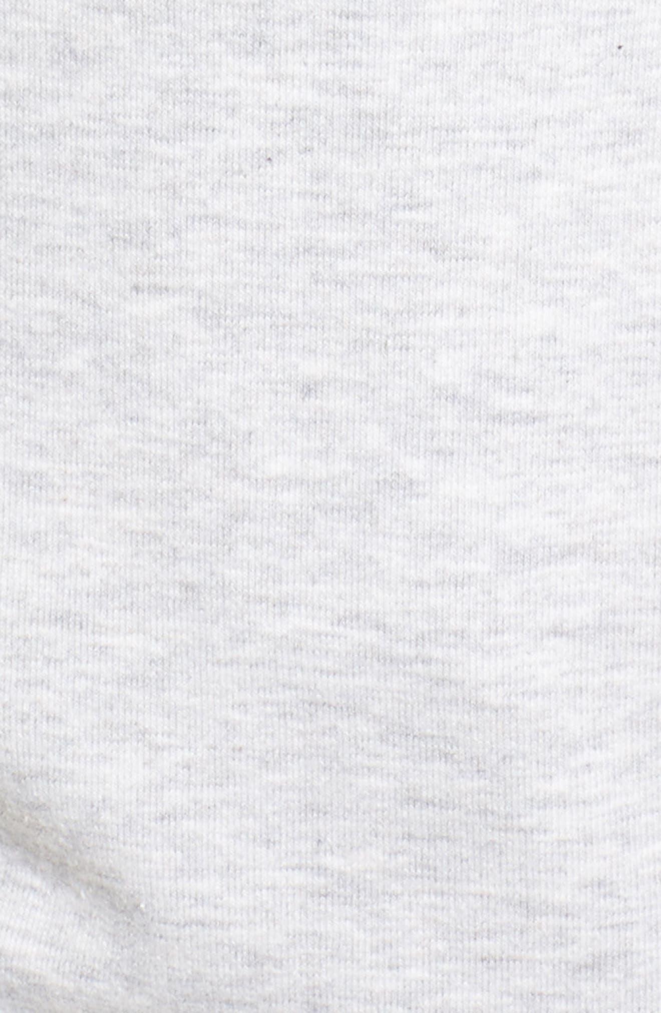 Logo Hoodie,                             Alternate thumbnail 6, color,                             Light Grey Marl