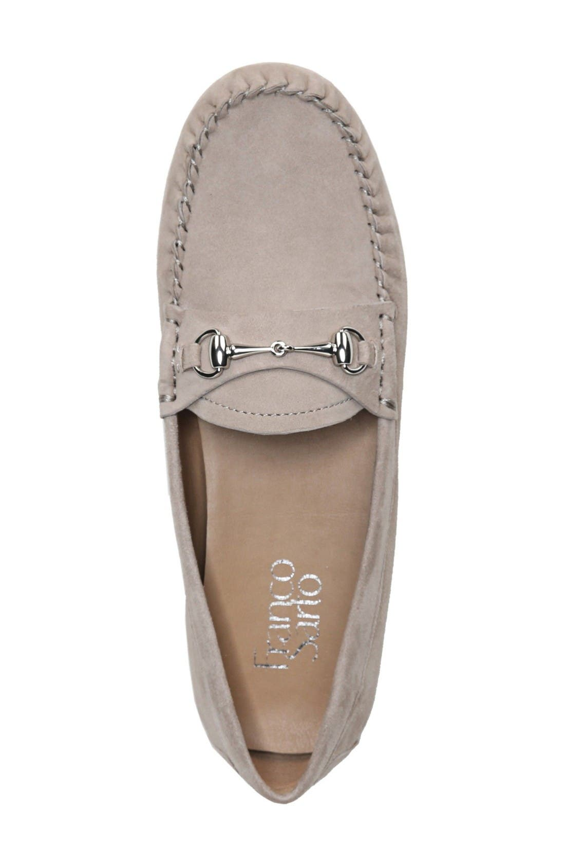 Galatea Loafer,                             Alternate thumbnail 3, color,                             Taupe Suede