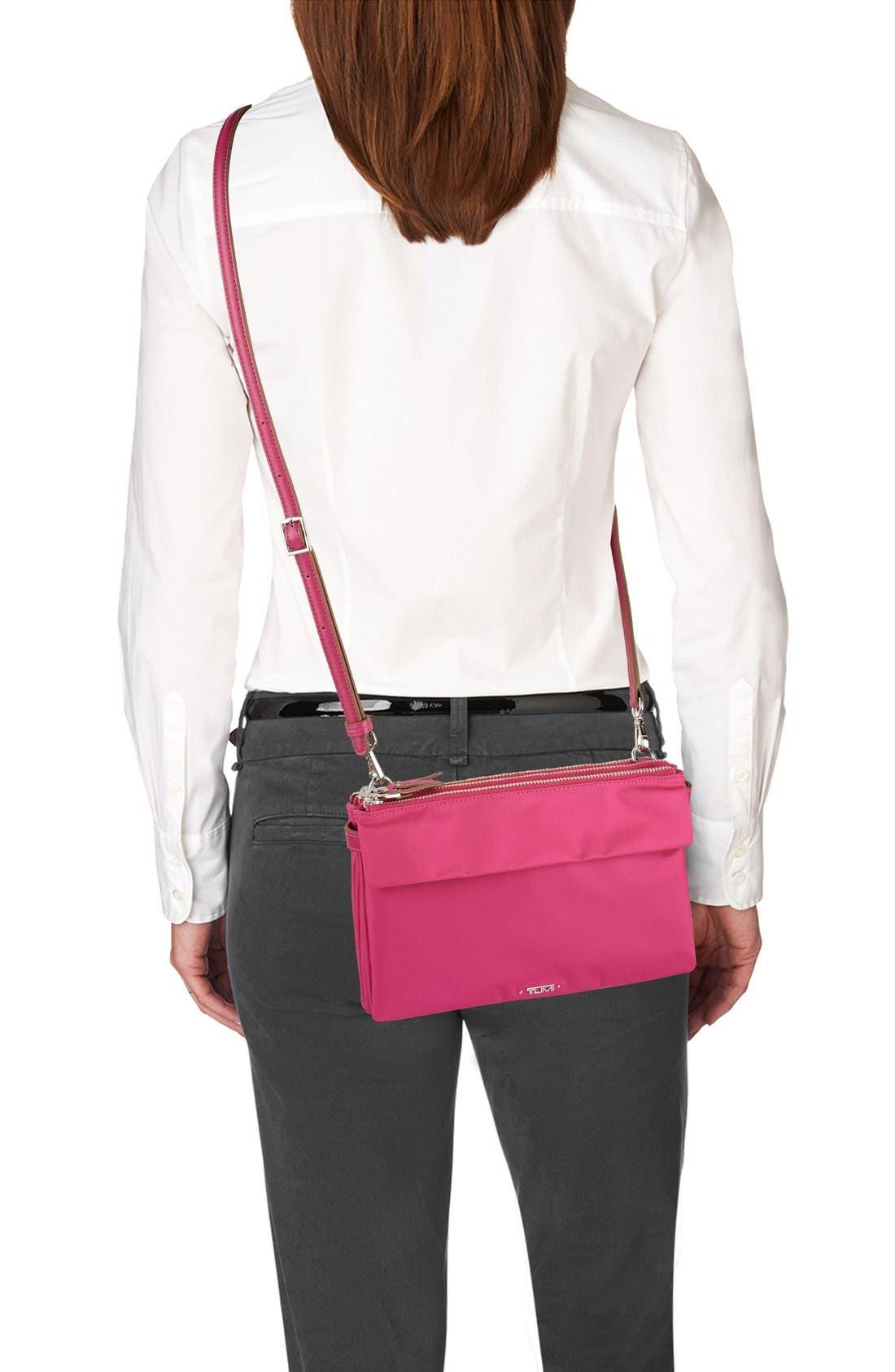 Voyageur - Tristen Nylon Crossbody Bag,                             Alternate thumbnail 2, color,                             Pink