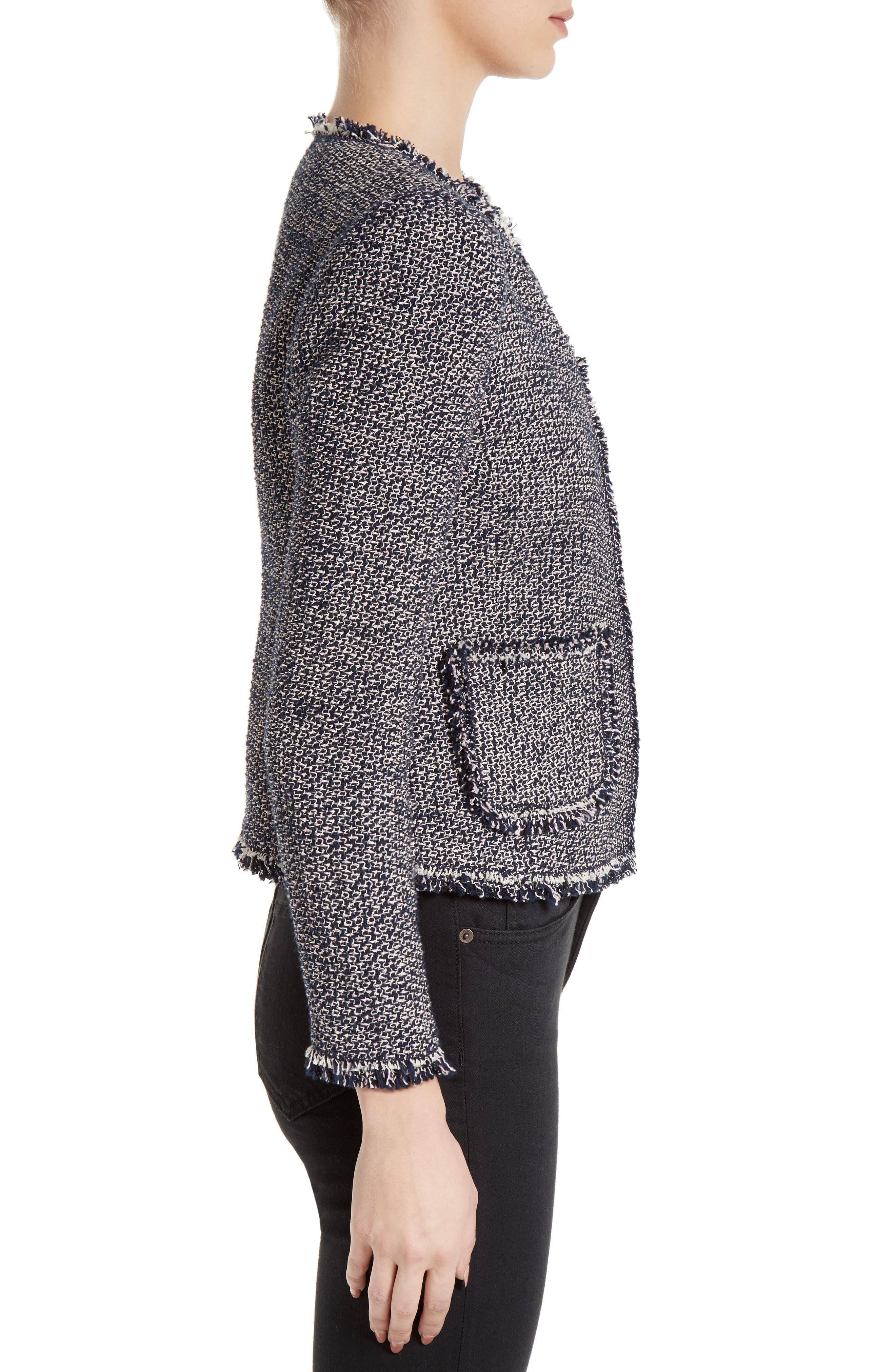 Alternate Image 4  - Rebecca Taylor Confetti Tweed Jacket