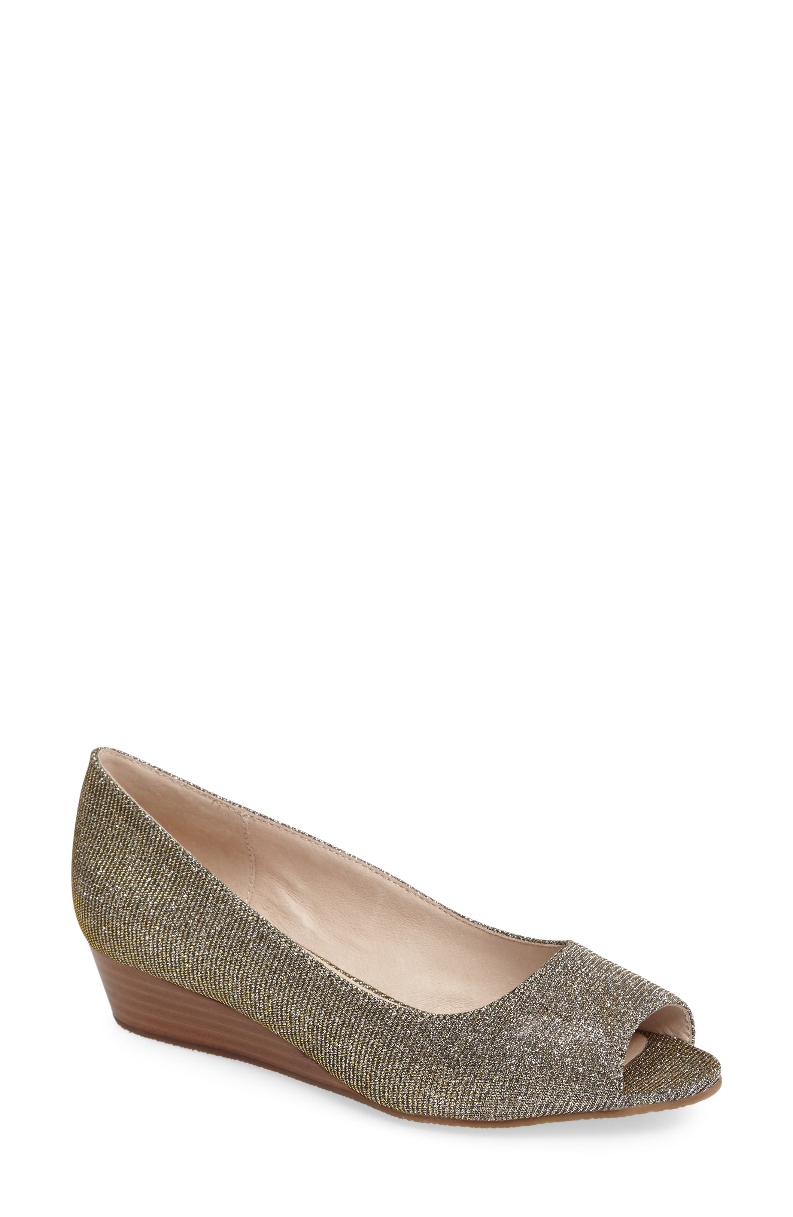 Sudini 'Willa' Peep Toe Wedge ...