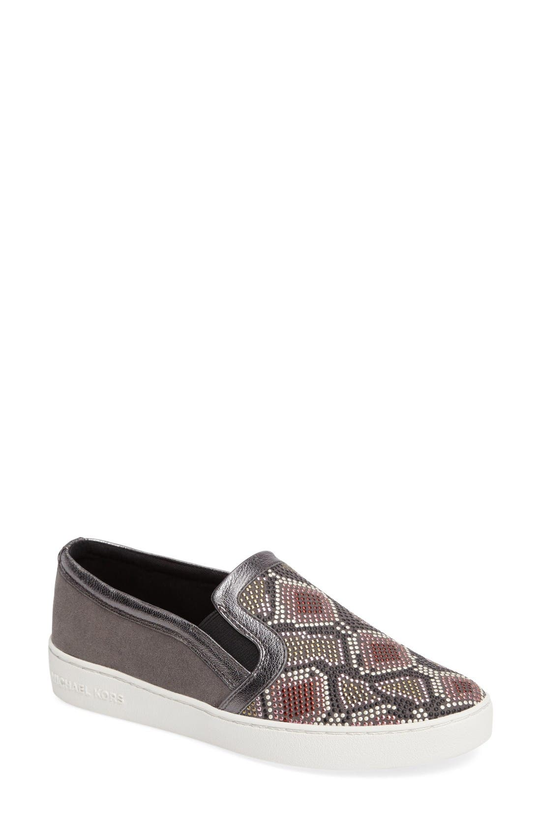 Main Image - MICHAEL Michael Kors Leo Slip-On (Women)