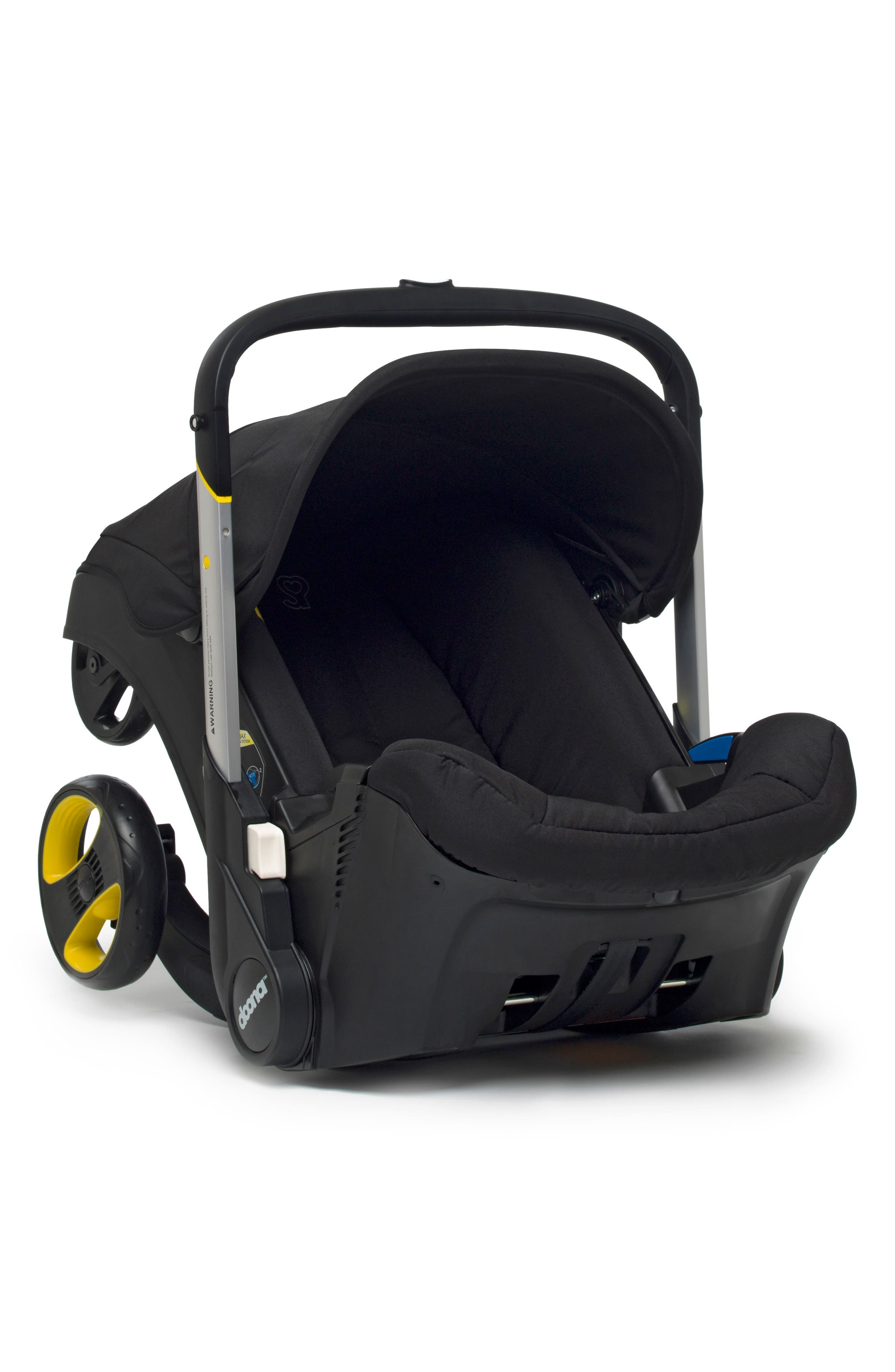 Convertible Infant Car Seat/Compact Stroller System,                             Alternate thumbnail 2, color,                             Black/ Night
