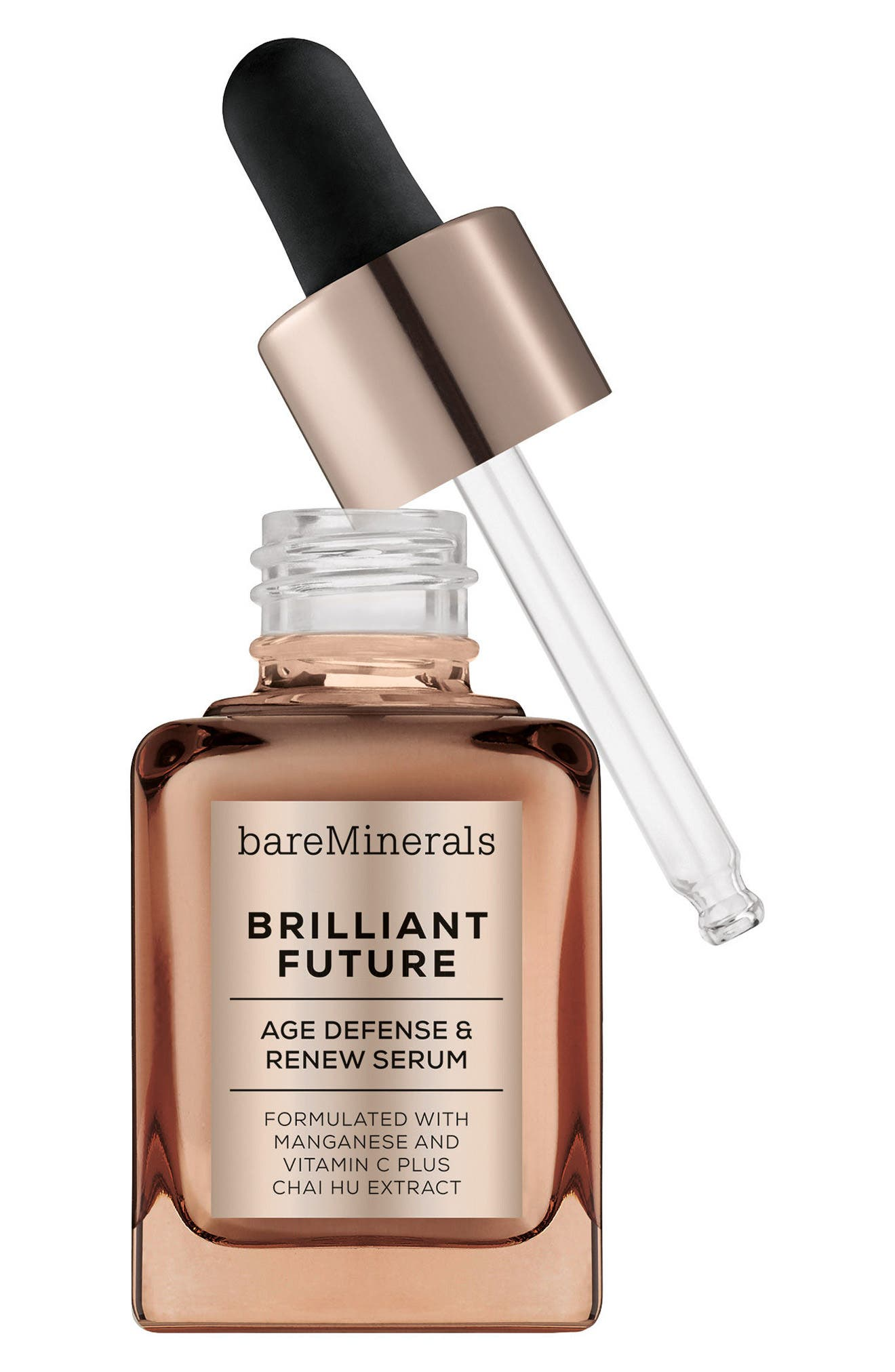 Alternate Image 2  - bareMinerals® Brilliant Future™ Age Defense & Renew Serum