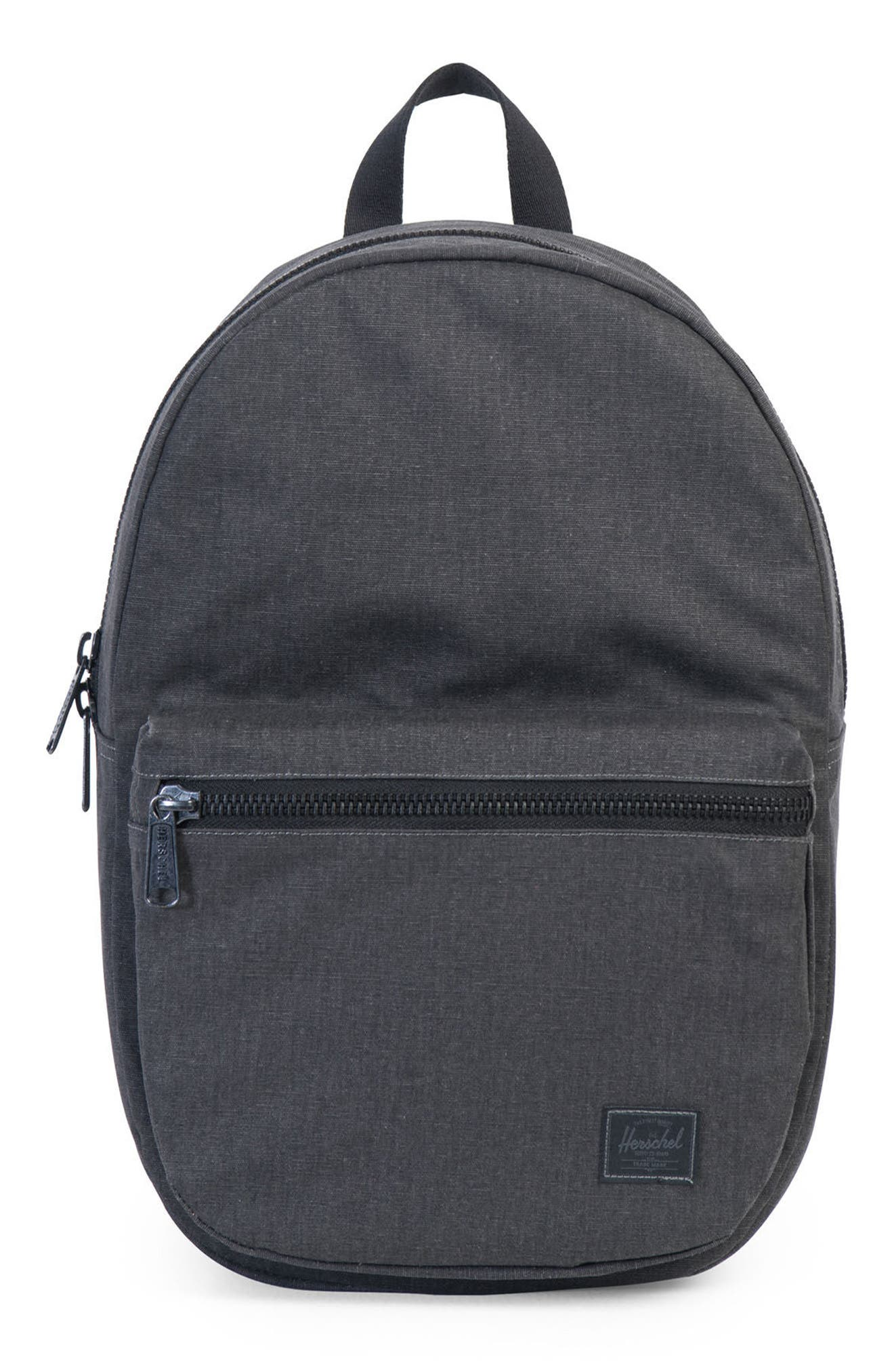 Lawson Backpack,                         Main,                         color, Black Ion Washed
