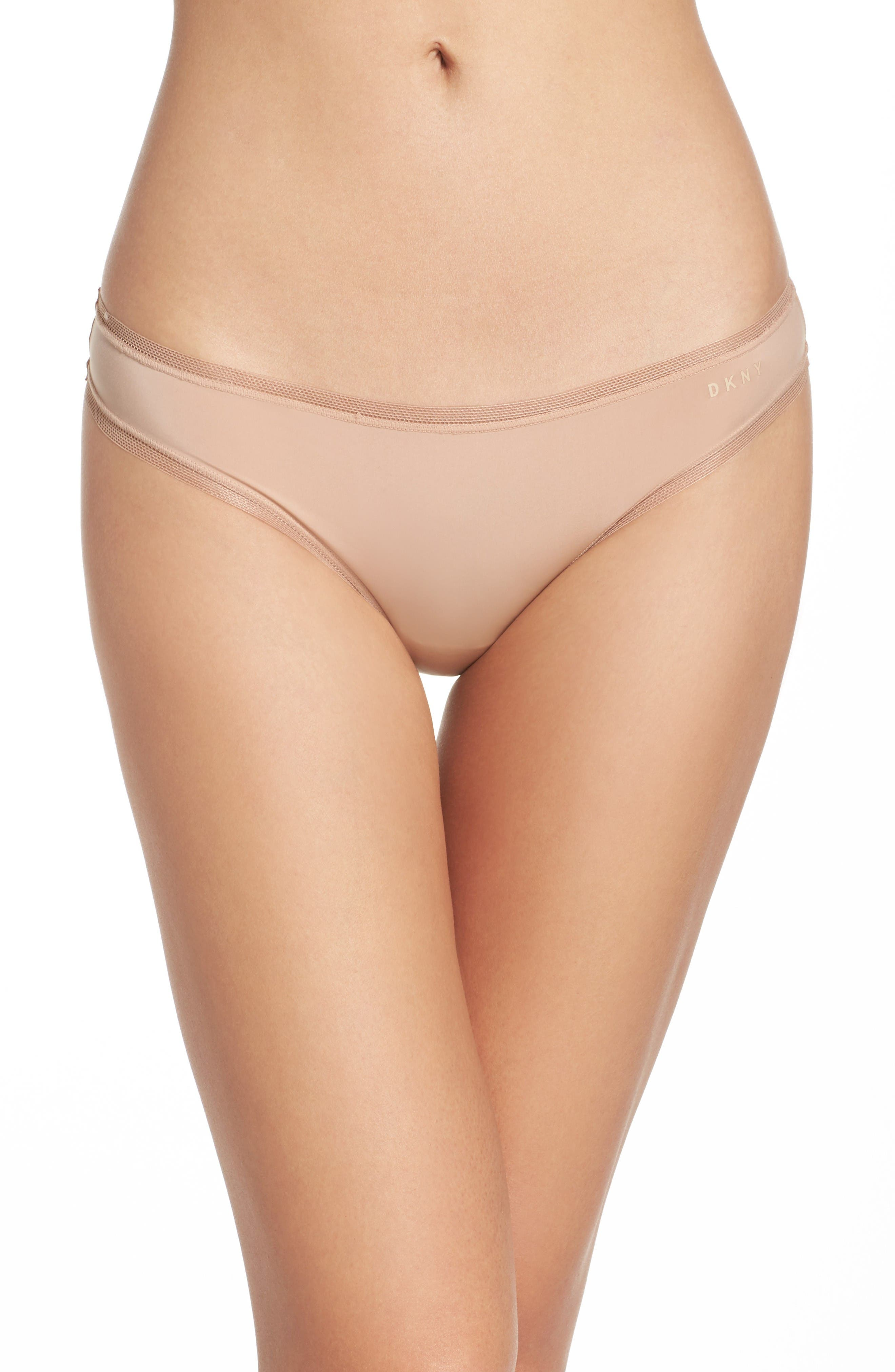 Alternate Image 1 Selected - DKNY Low Rise Thong