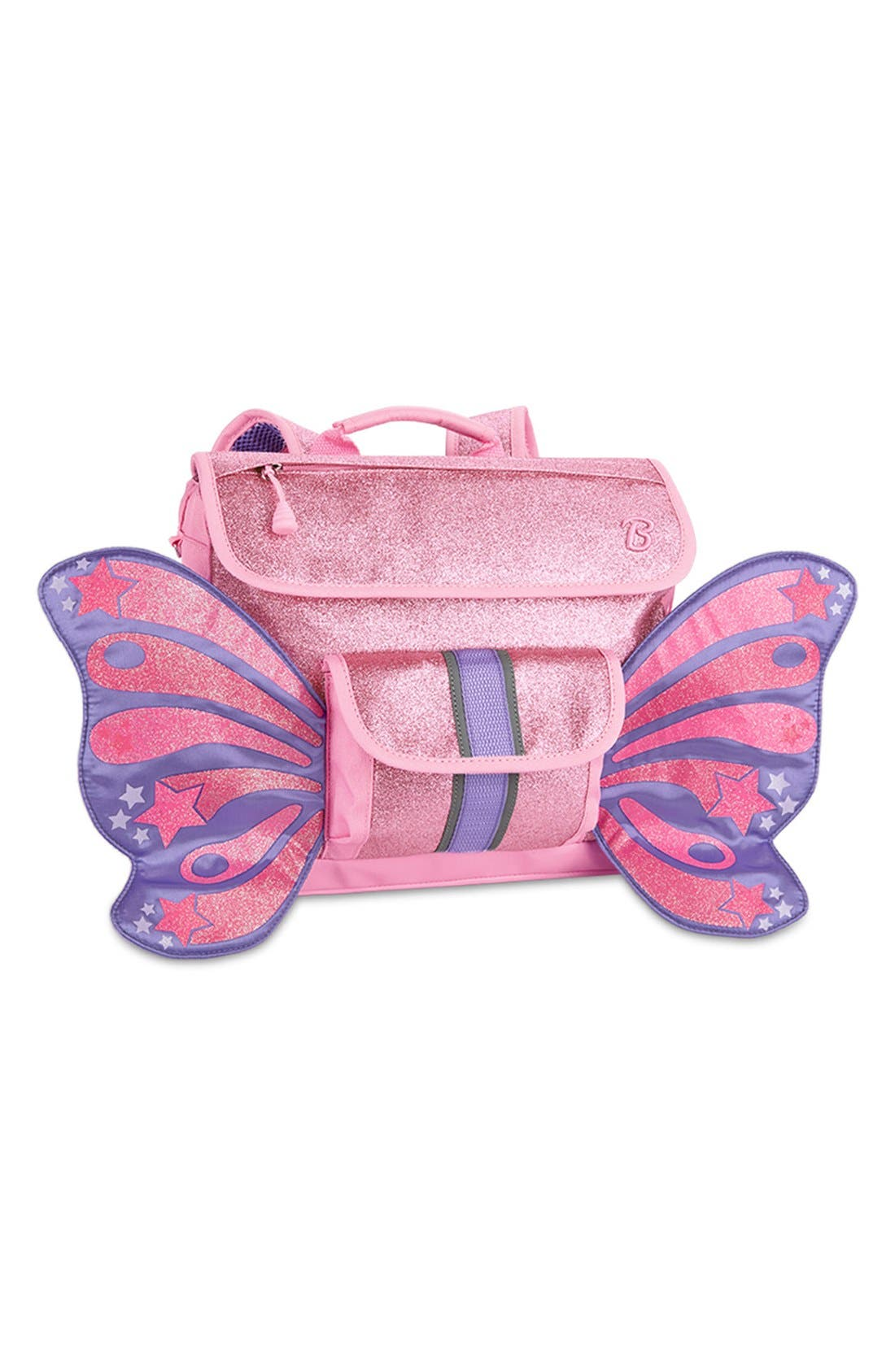 Alternate Image 1 Selected - Bixbee 'Small Sparkalicious Butterflyer' Backpack (Kids)