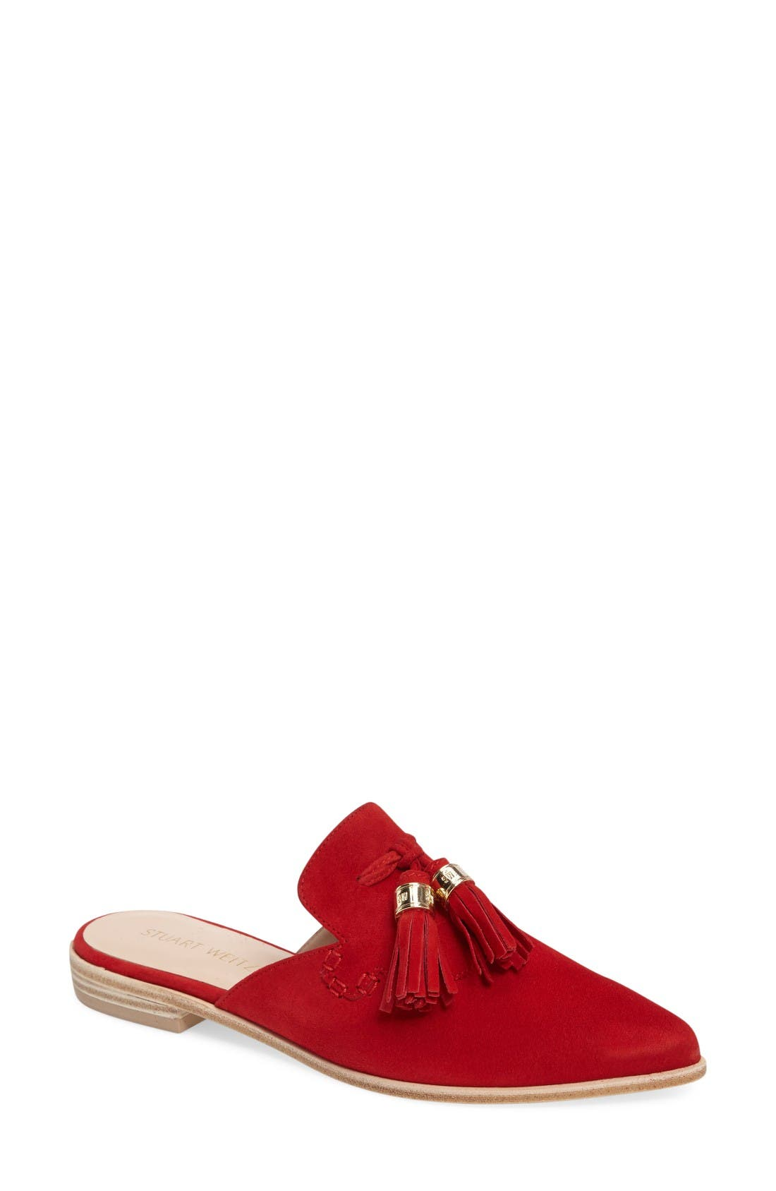 Alternate Image 1 Selected - Stuart Weitzman 'Slidealong' Slide Loafer (Women)