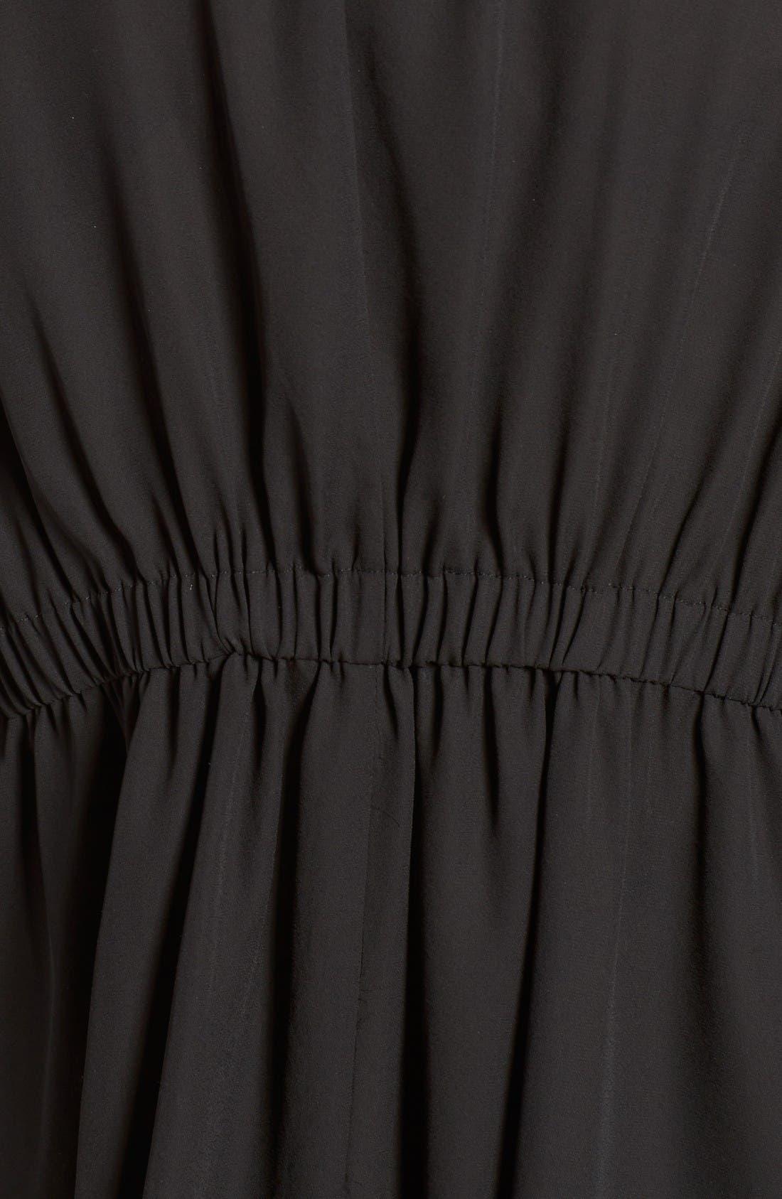 Slouchy Jacket,                             Alternate thumbnail 5, color,                             Black