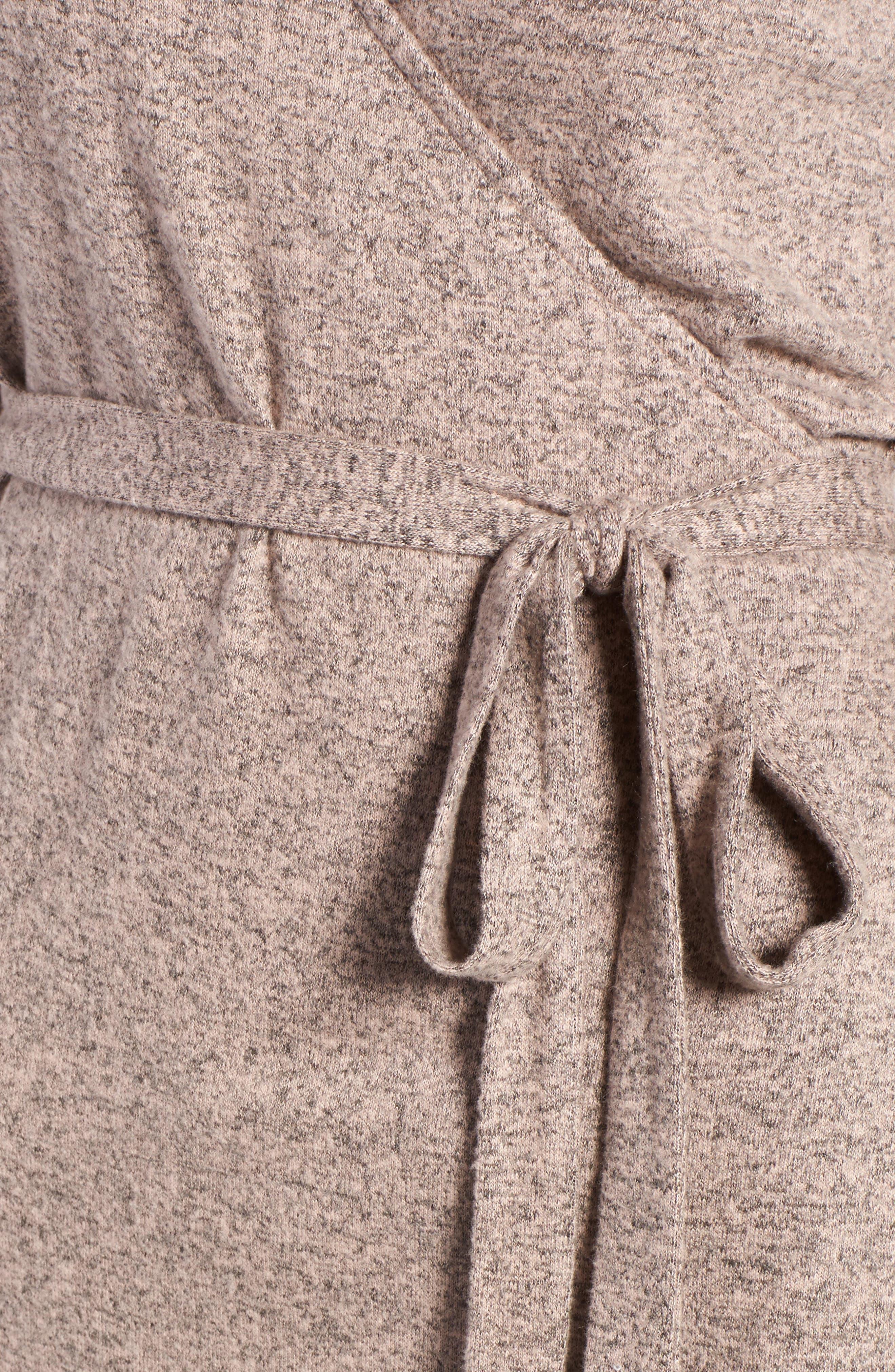 Alternate Image 5  - Trouvé Wrap Sweater