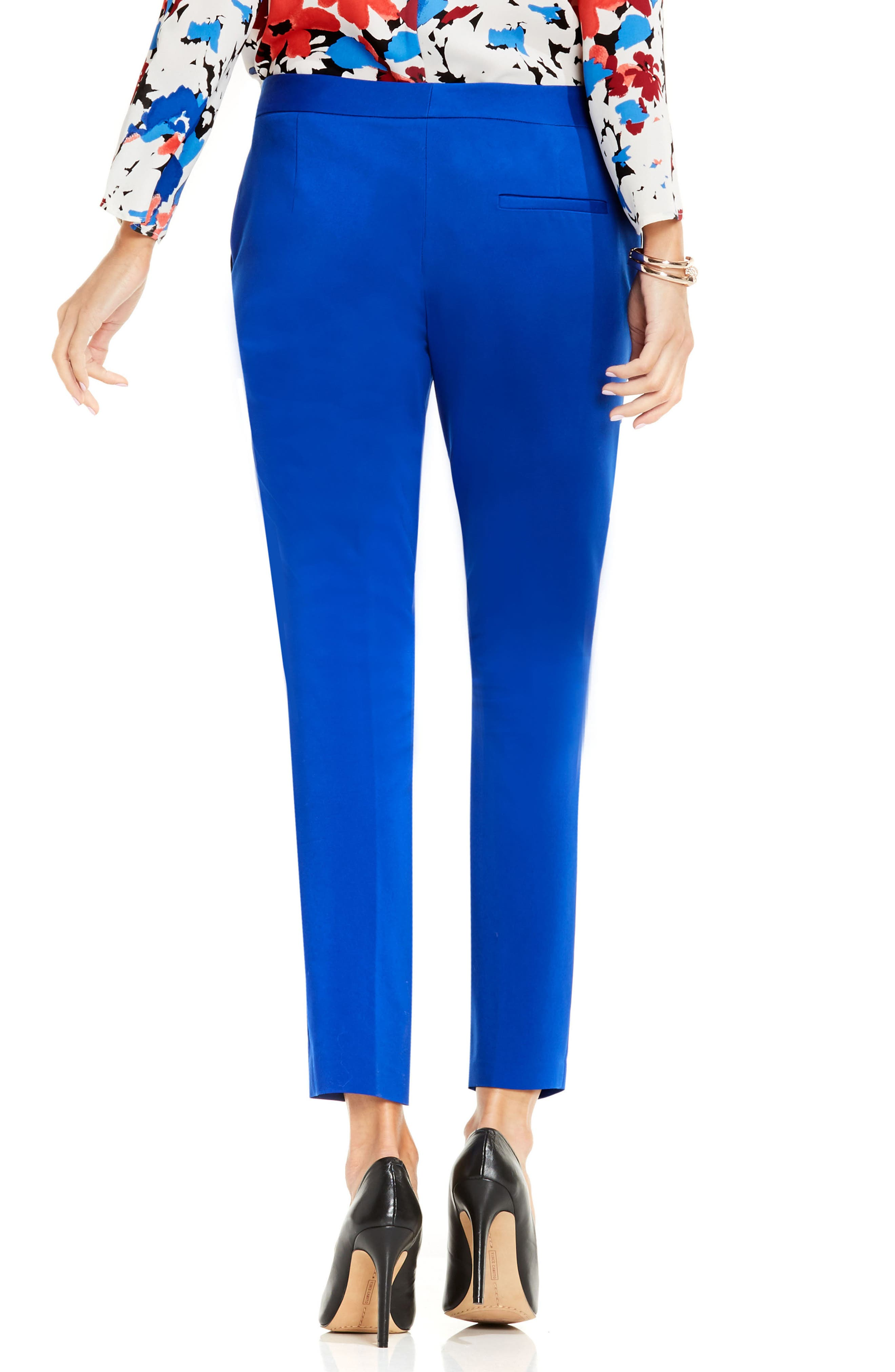 Alternate Image 2  - Vince Camuto Stretch Slim Ankle Pants