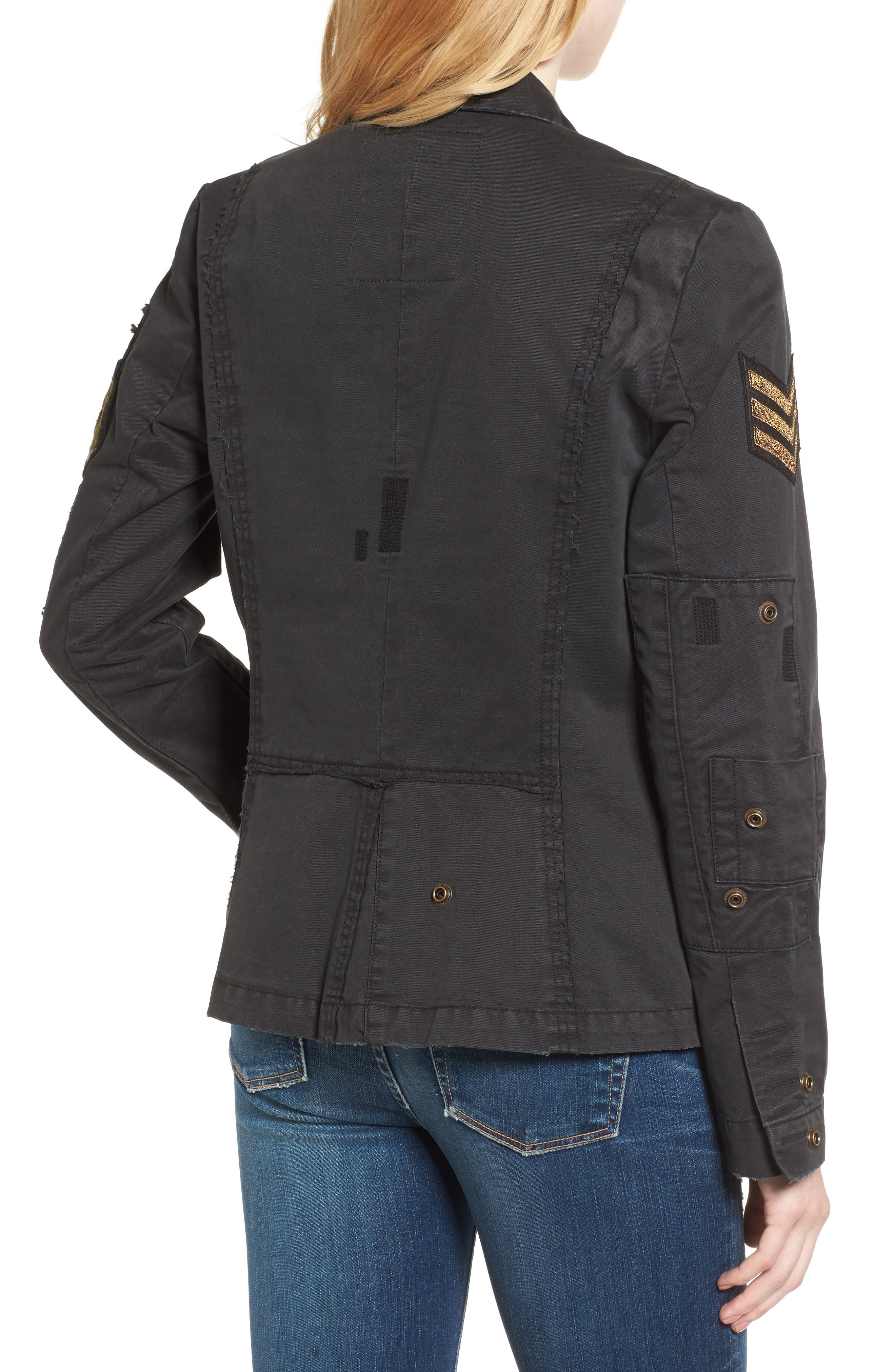 Virginia Jacket,                             Alternate thumbnail 2, color,                             Black