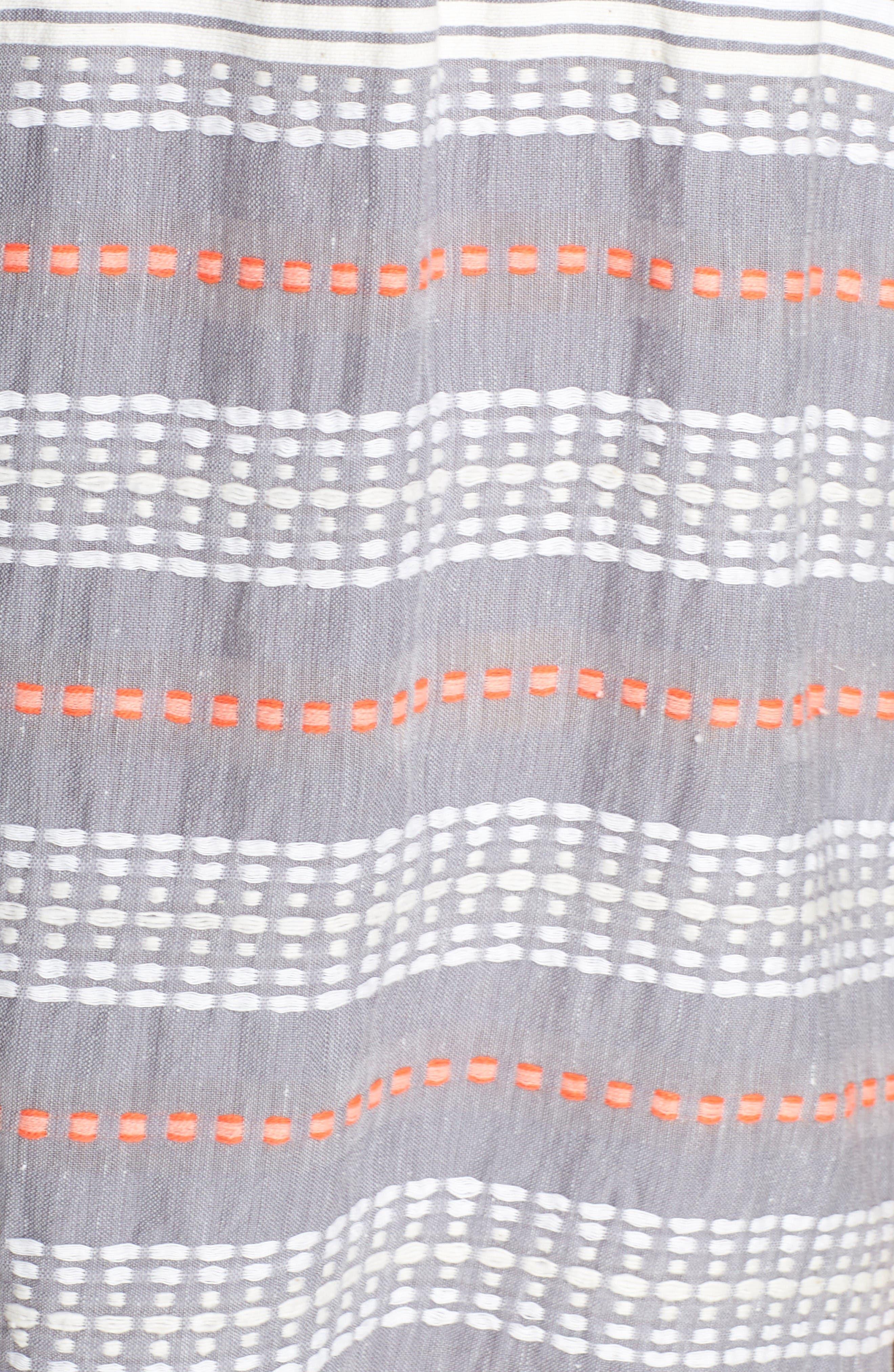 Alternate Image 5  - lemlem TabTab Off-the-Shoulder Cover-Up