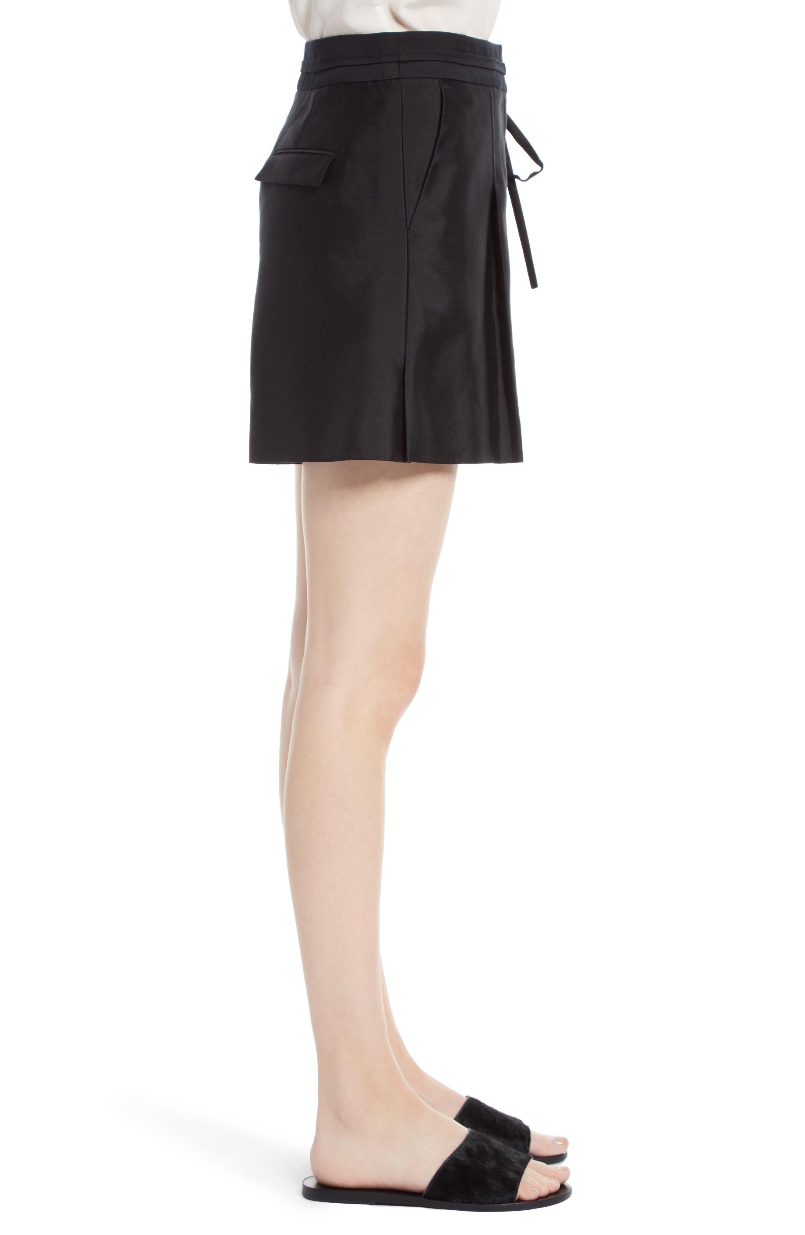 Alternate Image 3  - GREY Jason Wu Belted Wool & Silk Shorts