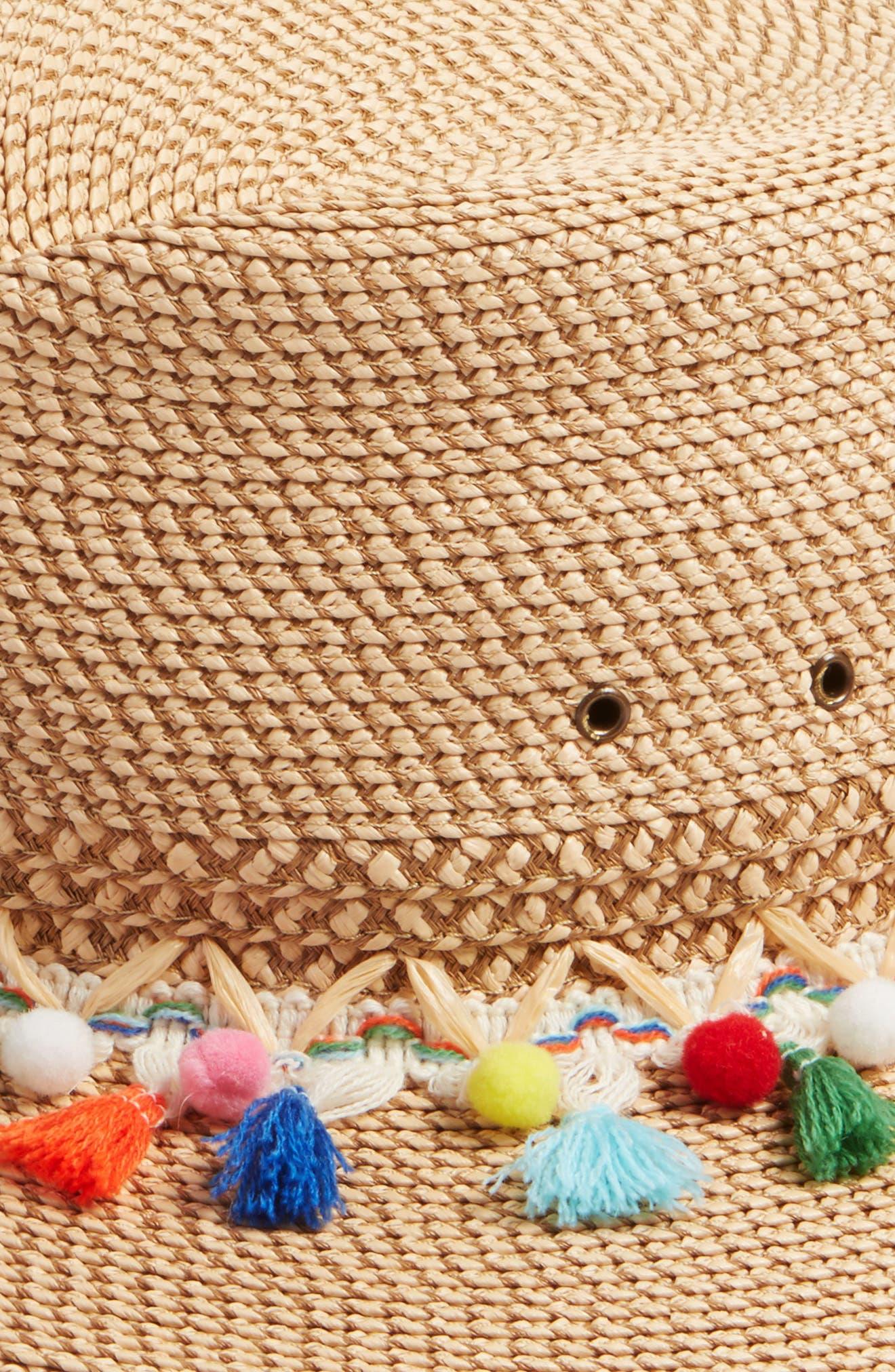 Bahia Sun Hat,                             Alternate thumbnail 2, color,                             Peanut Mix
