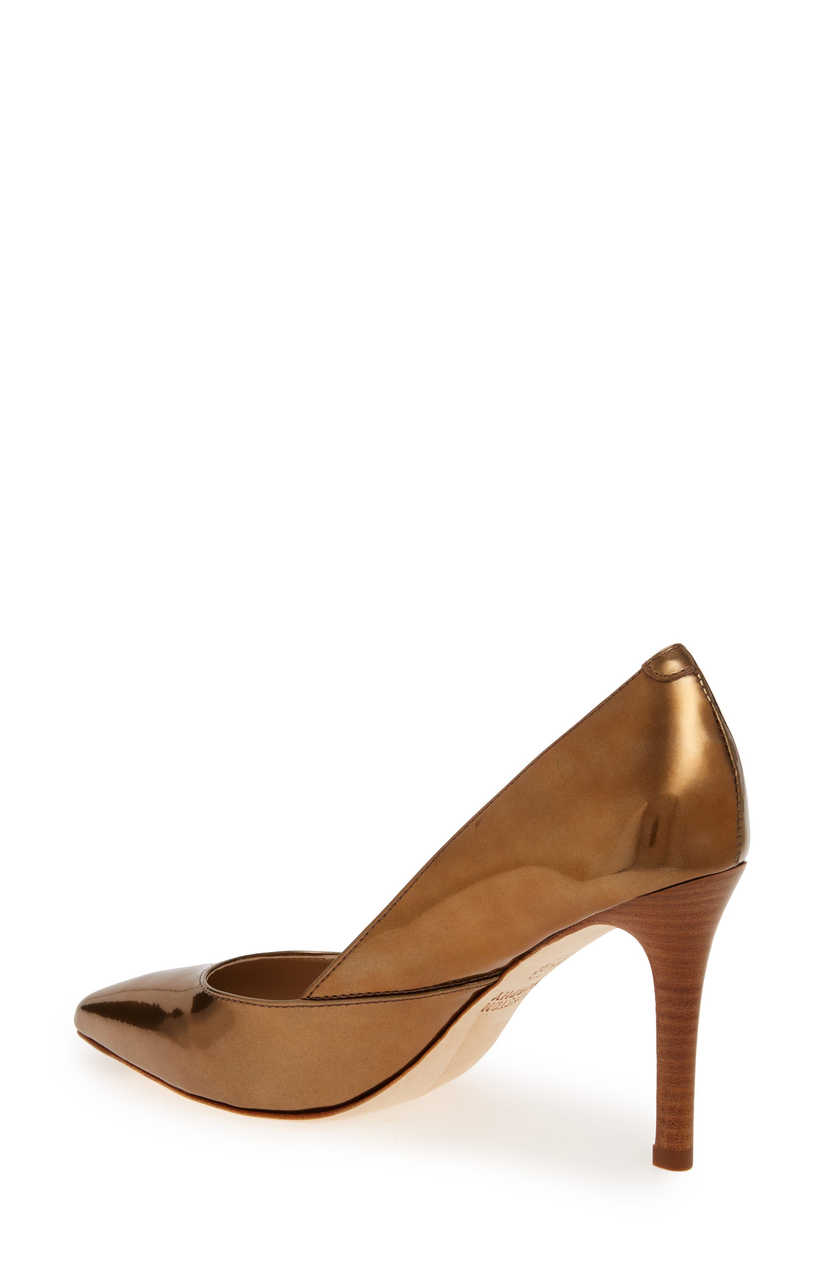 Alternate Image 2  - Johnston & Murphy 'Vanessa' Pointy Toe Leather Pump (Women)