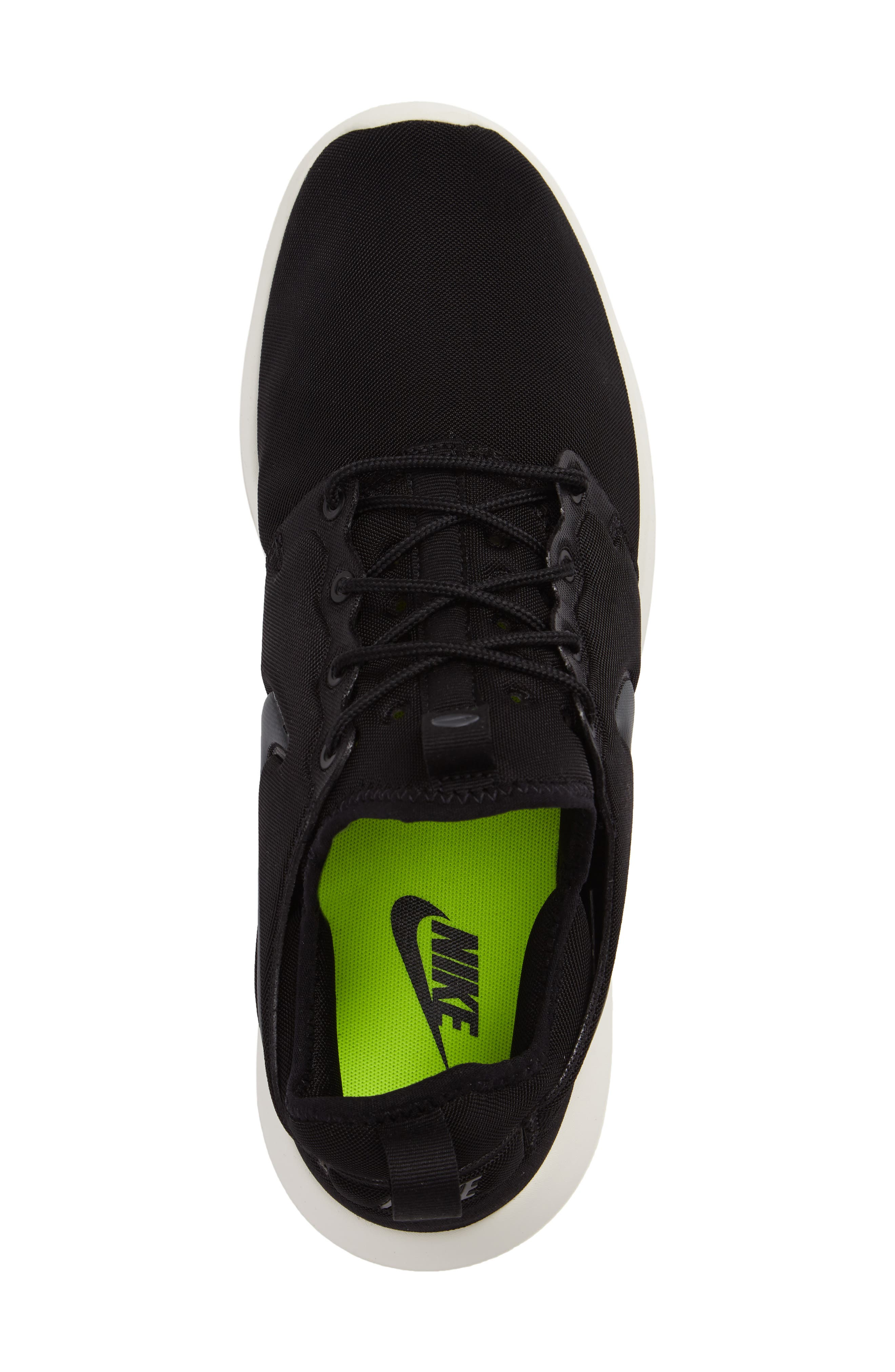 Roshe Two Sneaker,                             Alternate thumbnail 3, color,                             Black/ Anthracite/ Sail/ Volt