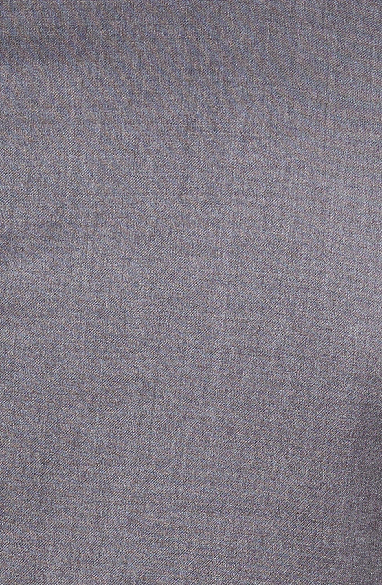 Ryan/Win Trim Fit Solid Wool Suit,                             Alternate thumbnail 7, color,                             Medium Grey