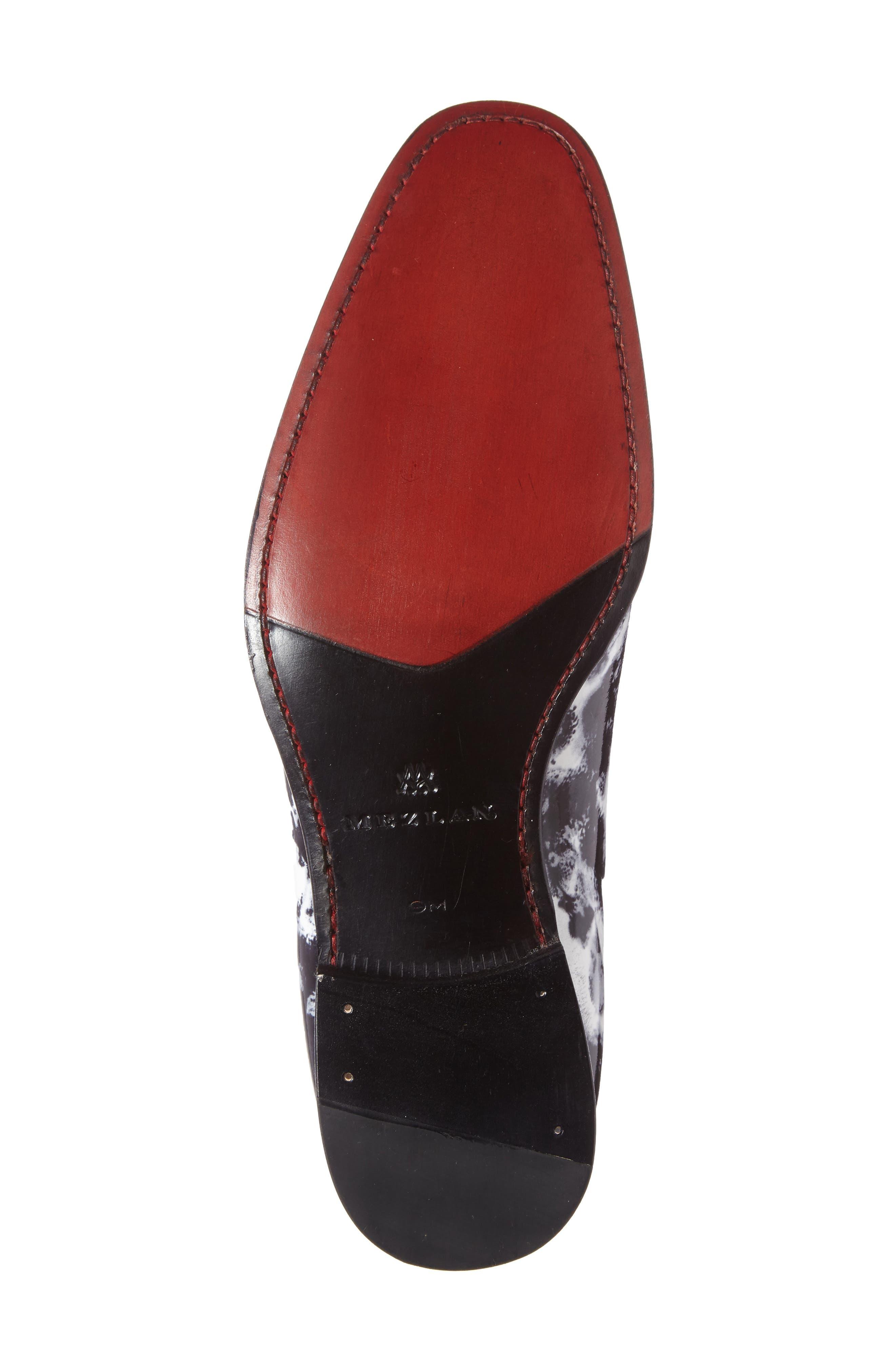 Alternate Image 4  - Mezlan Mayr Patterned Venetian Loafer (Men)