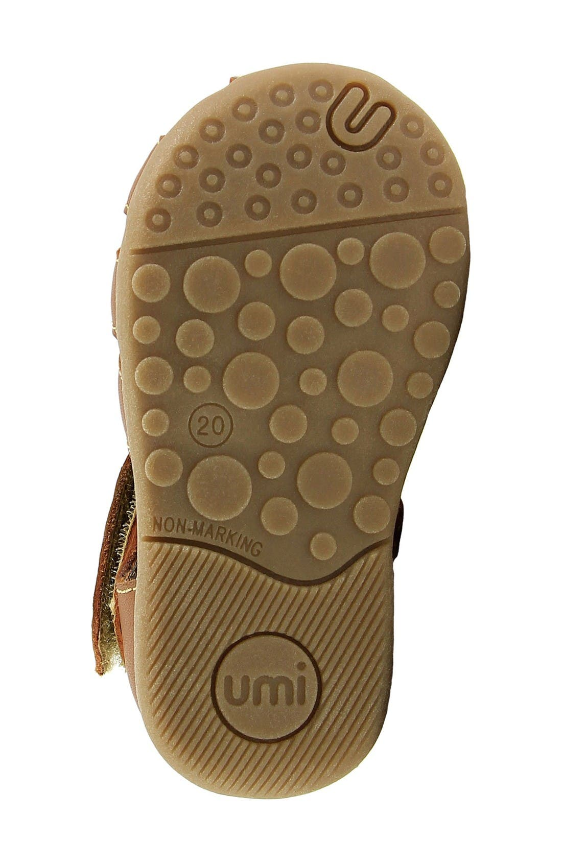 Ryker Sandal,                             Alternate thumbnail 4, color,                             Saddle Tan Leather