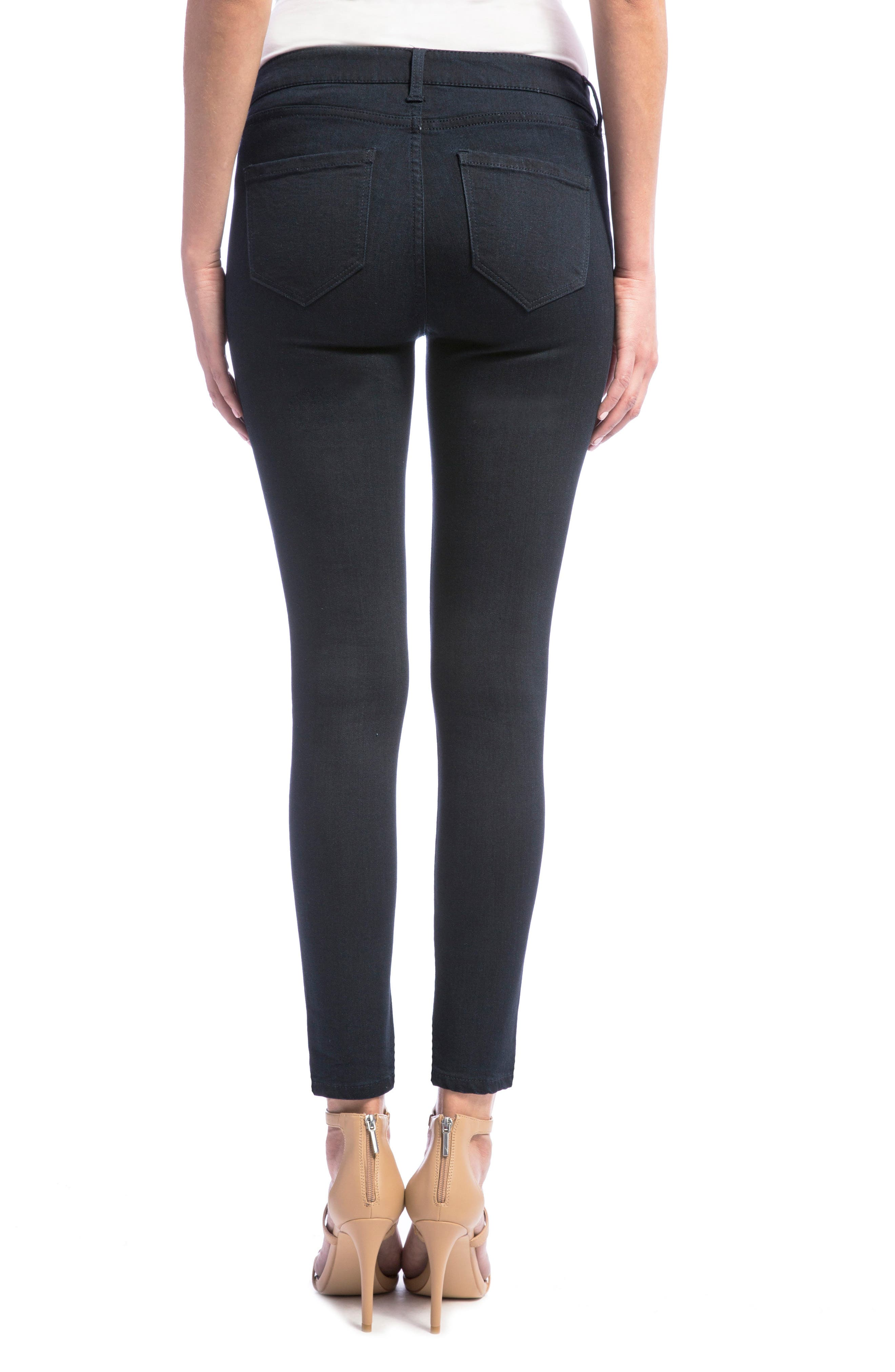 Alternate Image 3  - Liverpool Jeans Company Penny Skinny Ankle Jeans (Regular & Petite)
