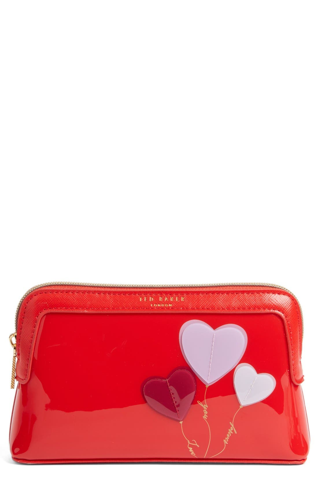 Main Image - Ted Baker London Heart Cosmetics Bag
