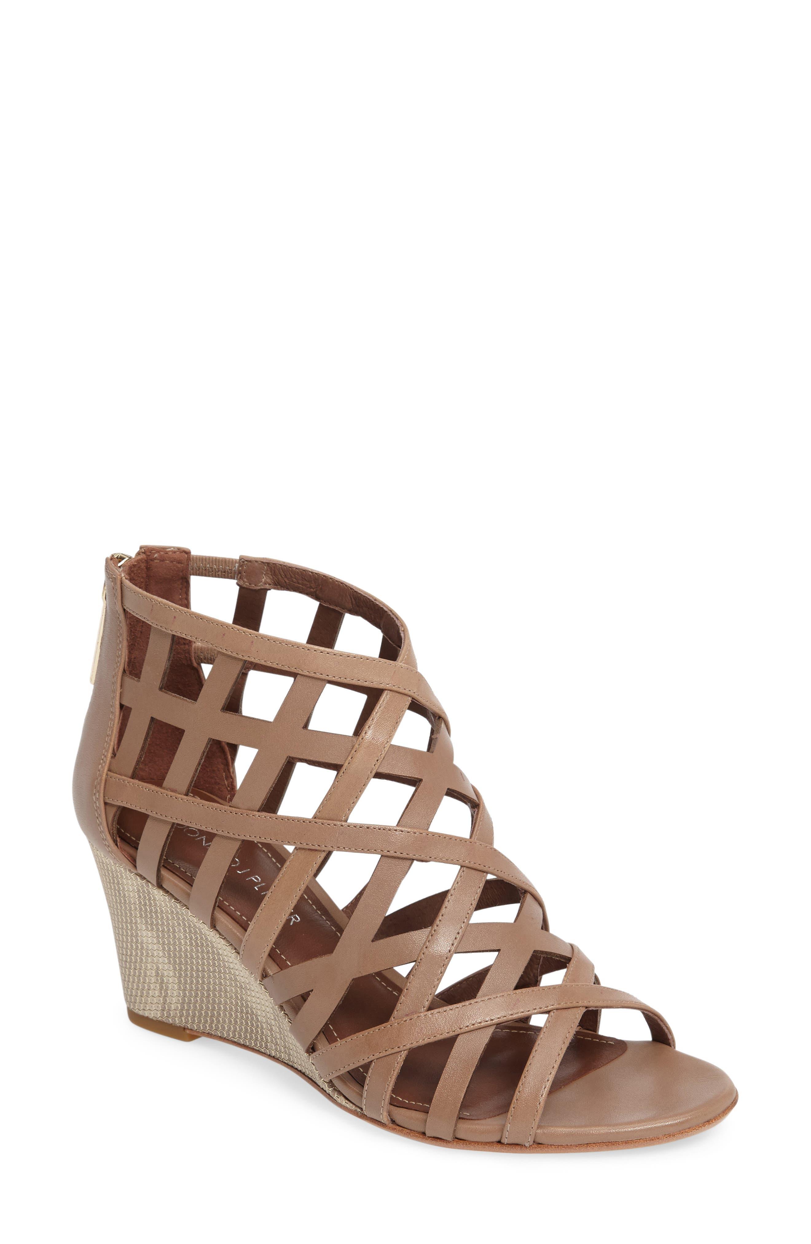 Alternate Image 1 Selected - Donald J Pliner Jordan Wedge Sandal (Women)