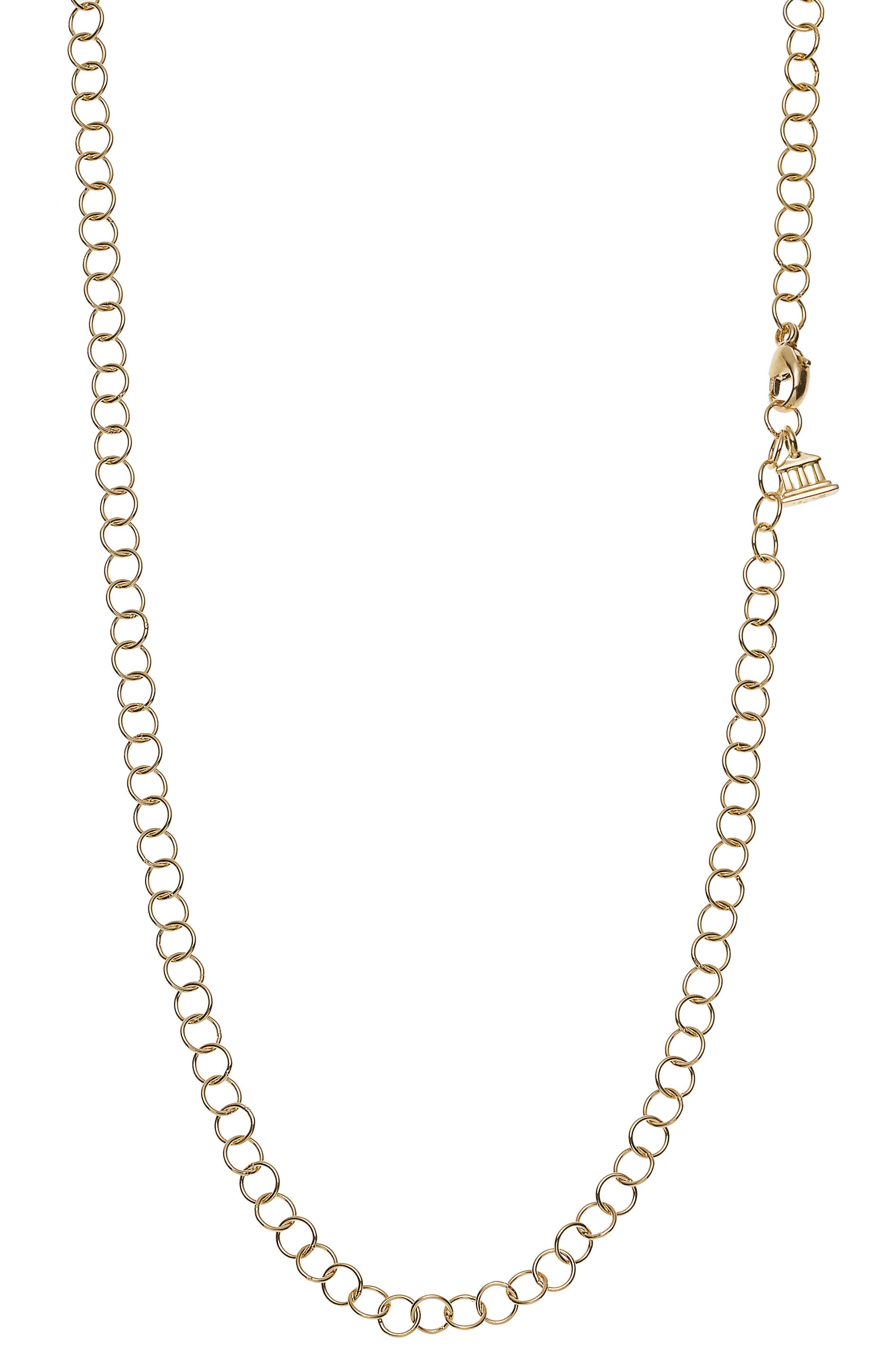TEMPLE ST CLAIR Temple St. Clair 24-Inch Round Chain Necklace