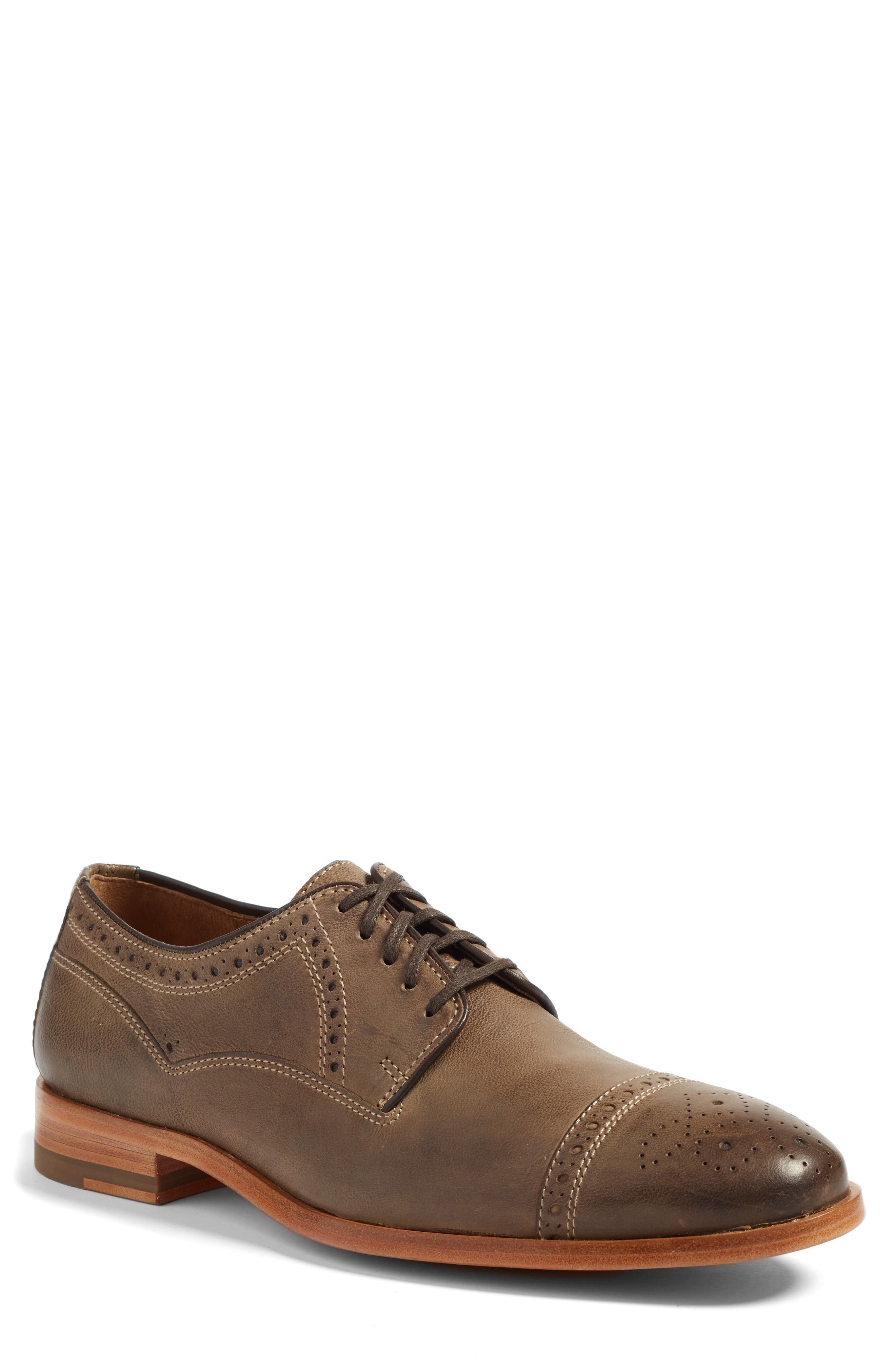 J&M 1850 Graham Cap Toe Derby
