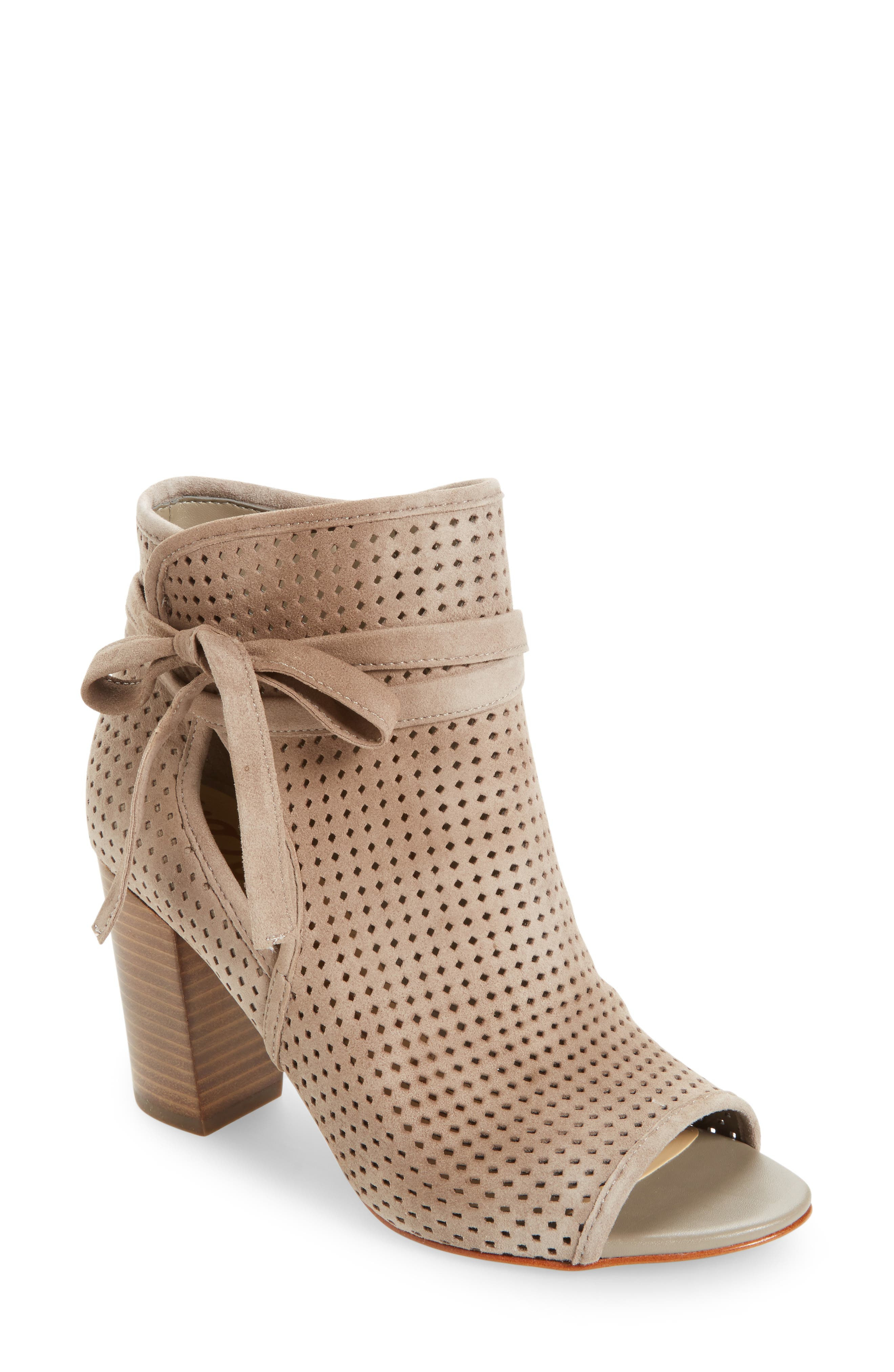 Alternate Image 1 Selected - Sam Edelman Ellery Open Toe Bootie (Women)
