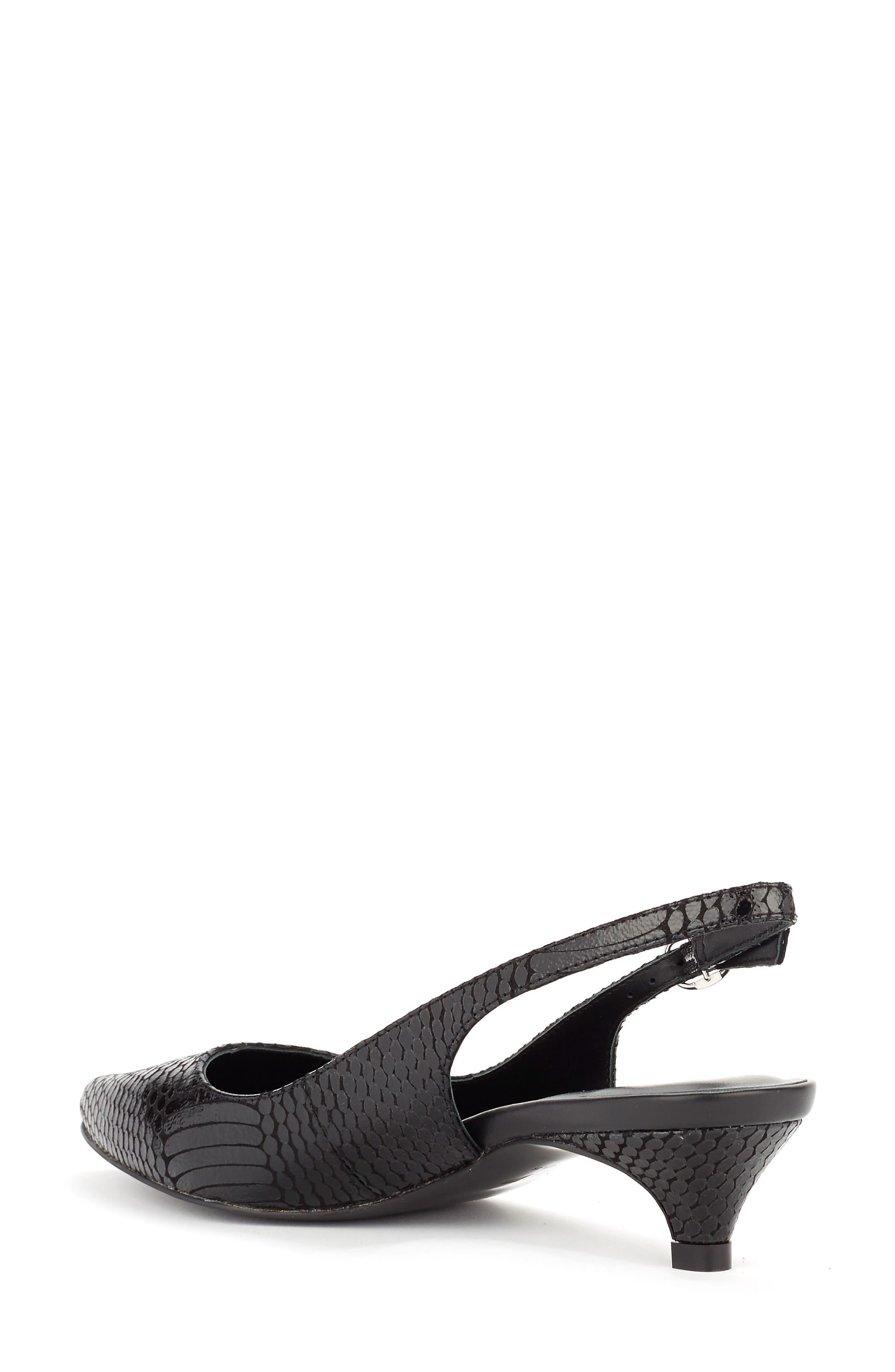 Alternate Image 2  - Shoes of Prey x Eleanor Pendleton Kitten Heel Slingback Pump (Women)