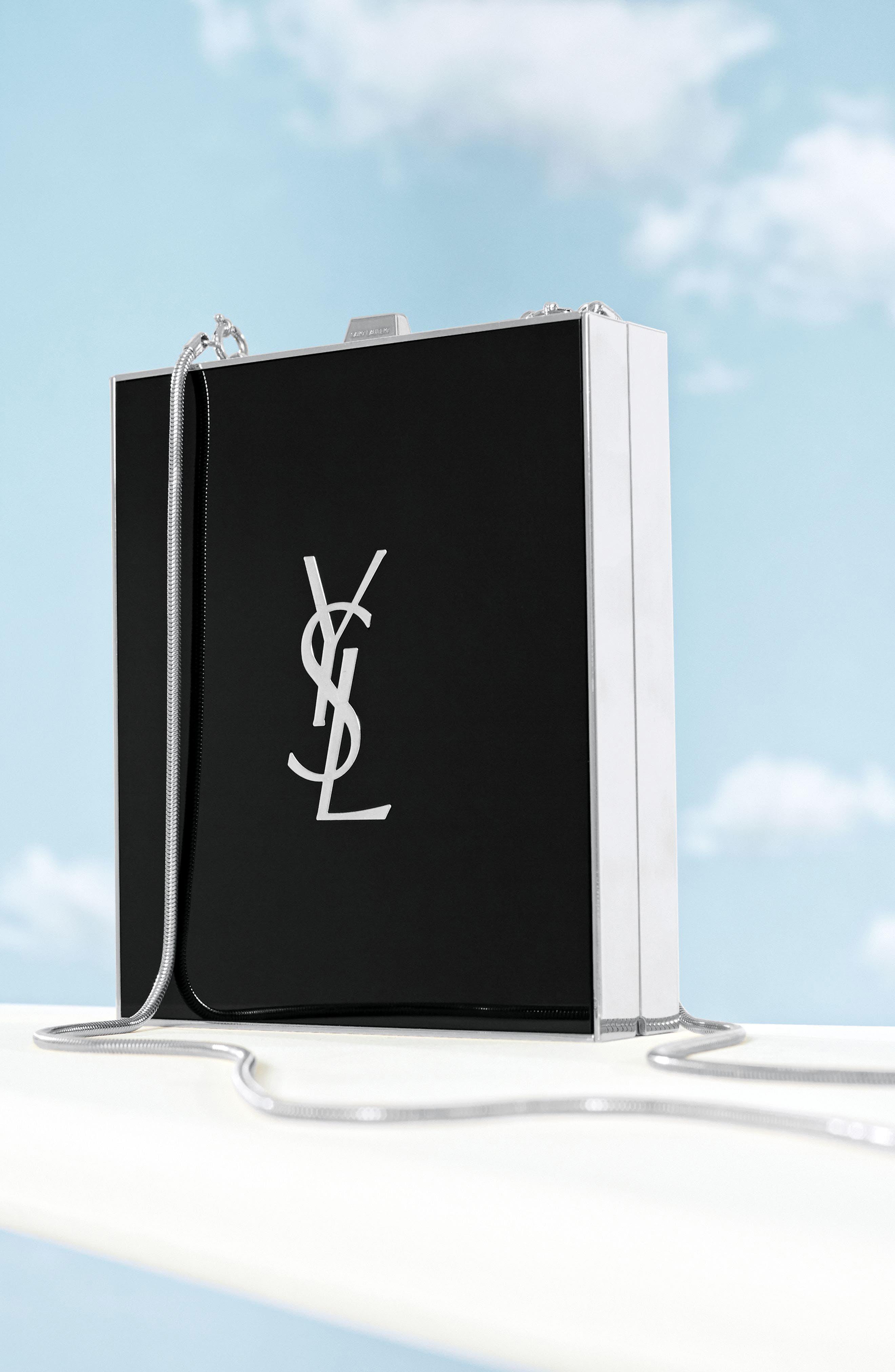 Alternate Image 4  - Saint Laurent Tuxedo Plexiglass Clutch