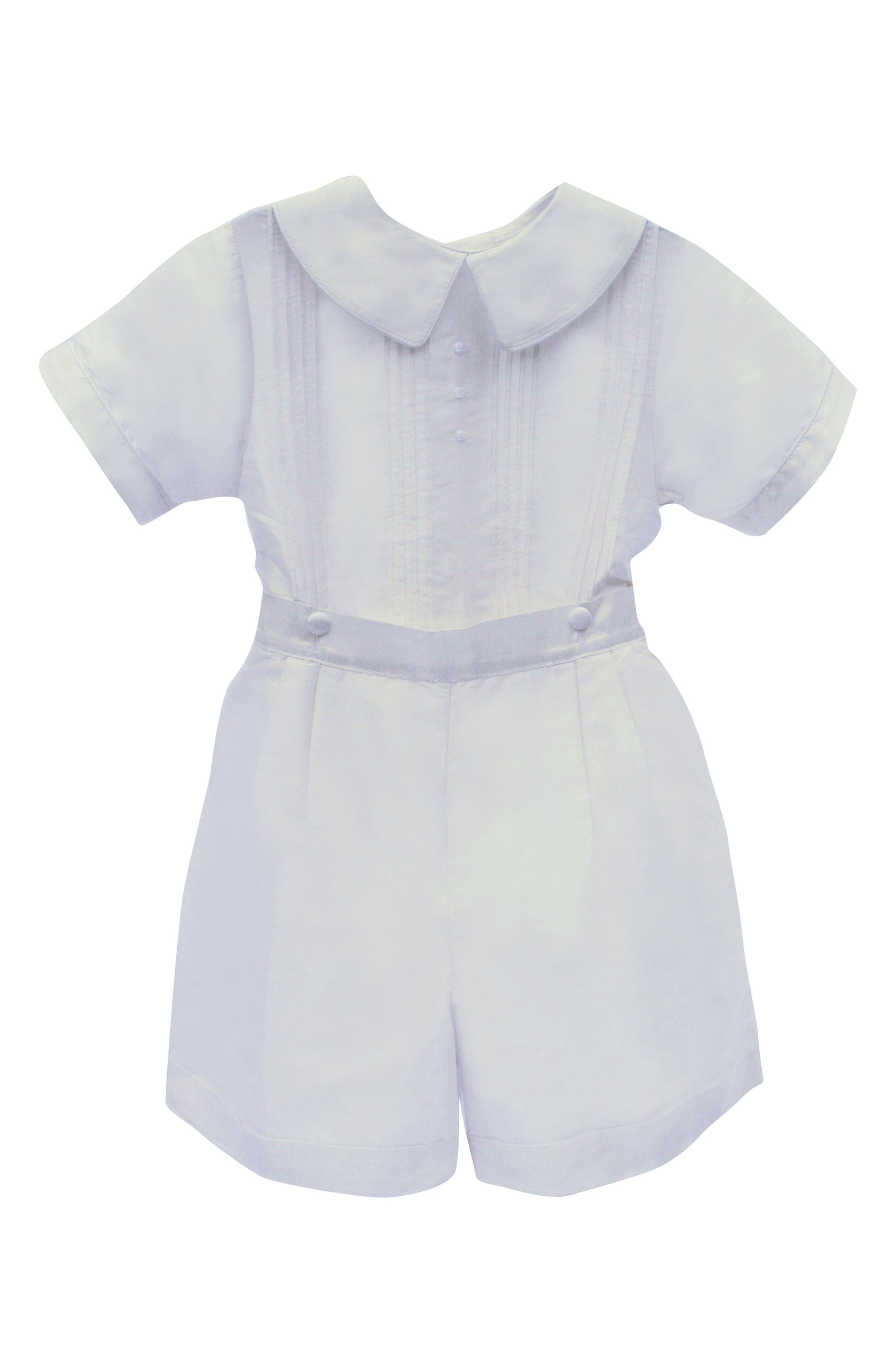 Sebastian Shirt & Pants Set,                             Main thumbnail 1, color,                             White