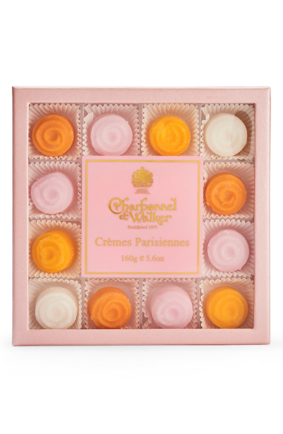 Cremes Parisiennes in Gift Box,                             Main thumbnail 1, color,                             Pink