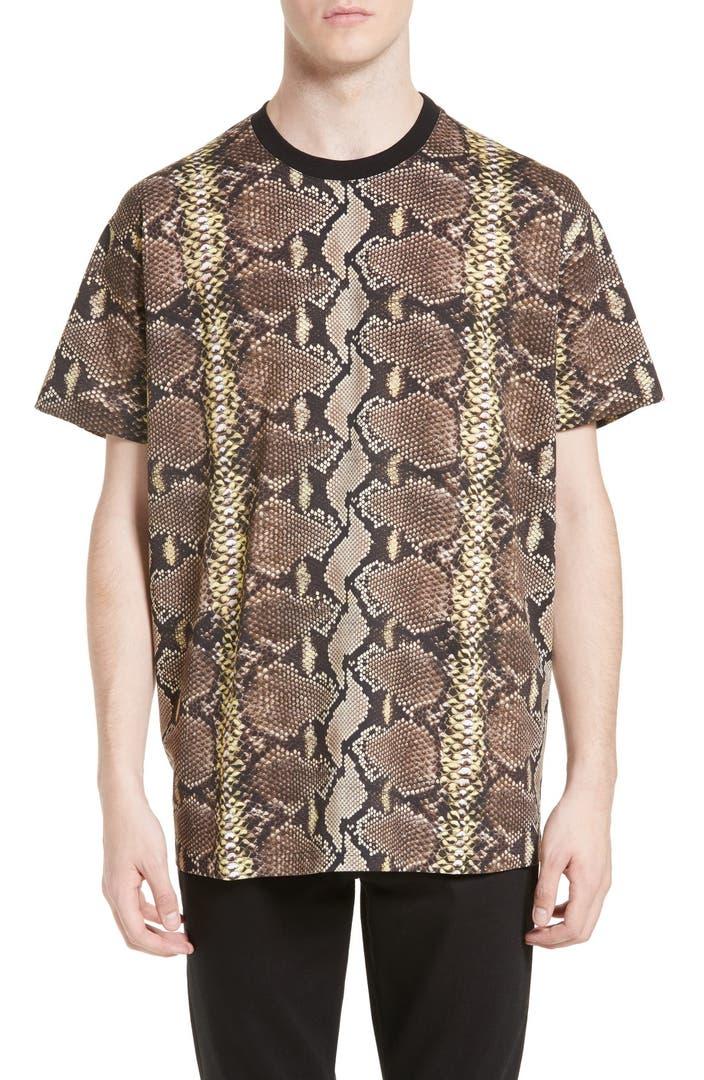 Givenchy Python Print T Shirt