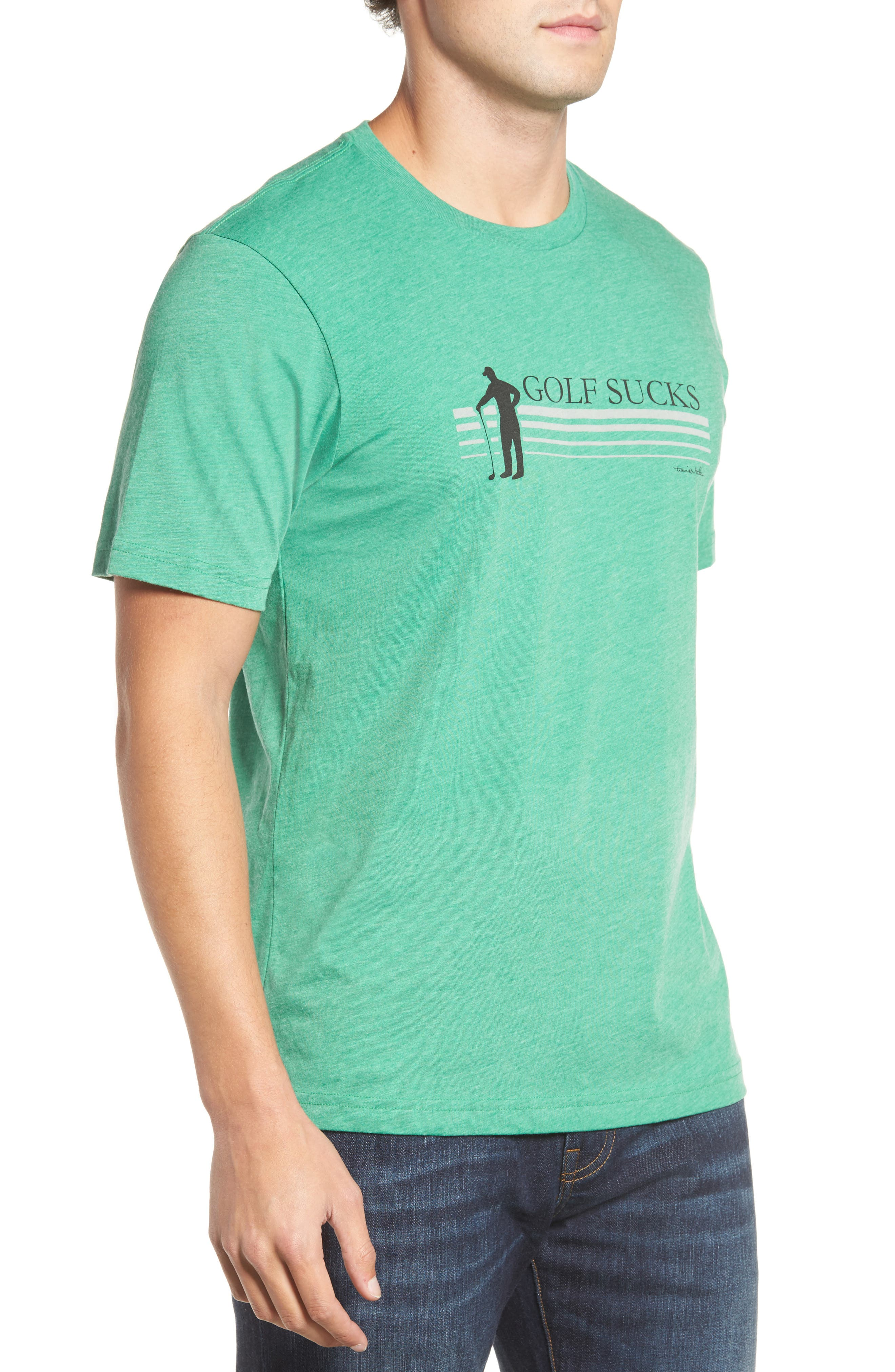 Jason T-Shirt,                             Alternate thumbnail 3, color,                             Heather Green