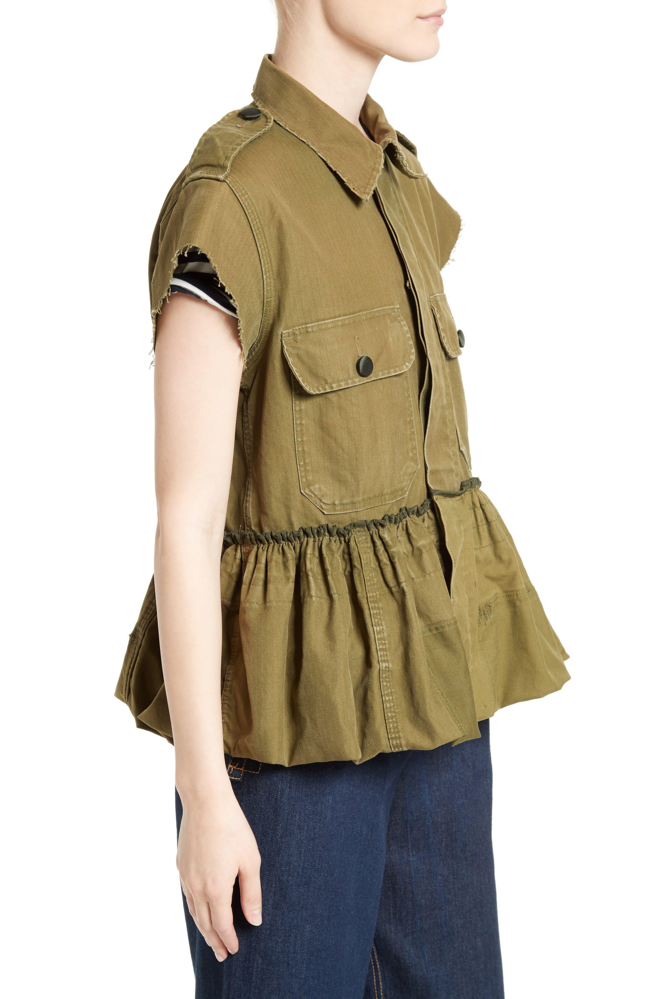 Alternate Image 3  - Harvey Faircloth Special Edition Bubble Hem Field Jacket