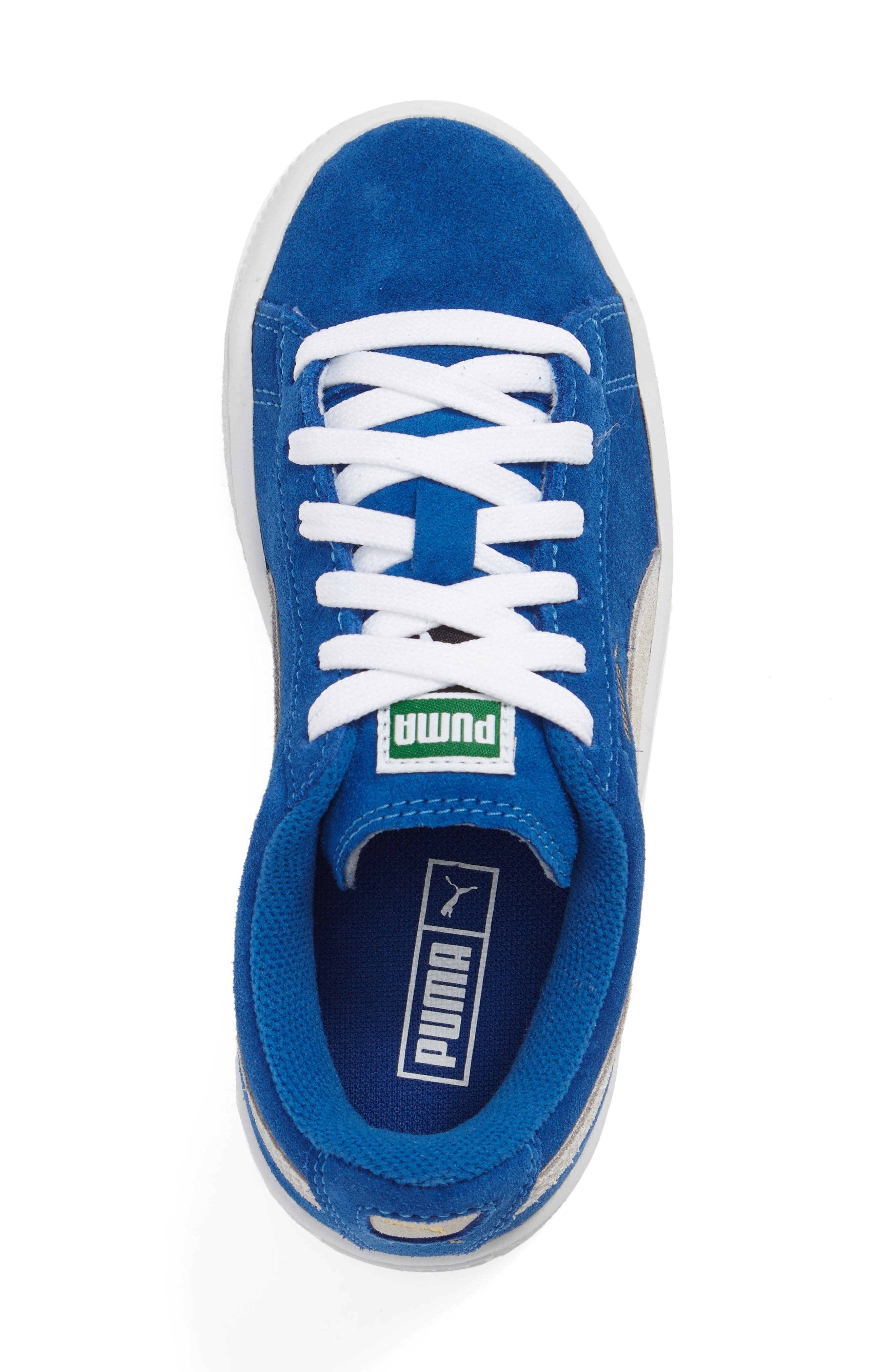 Suede PS Sneaker,                             Alternate thumbnail 3, color,                             Blue
