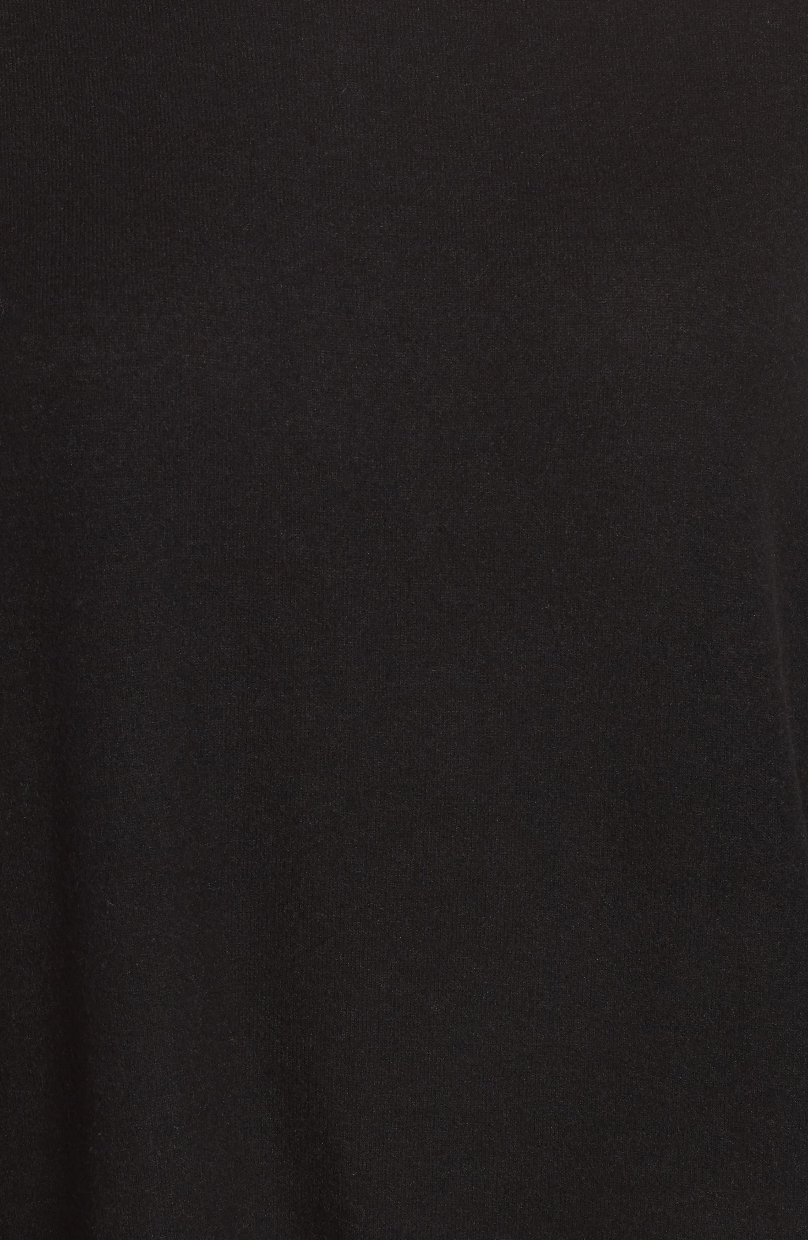 Alternate Image 5  - Gibson Boxy Fleece Top (Regular & Petite)