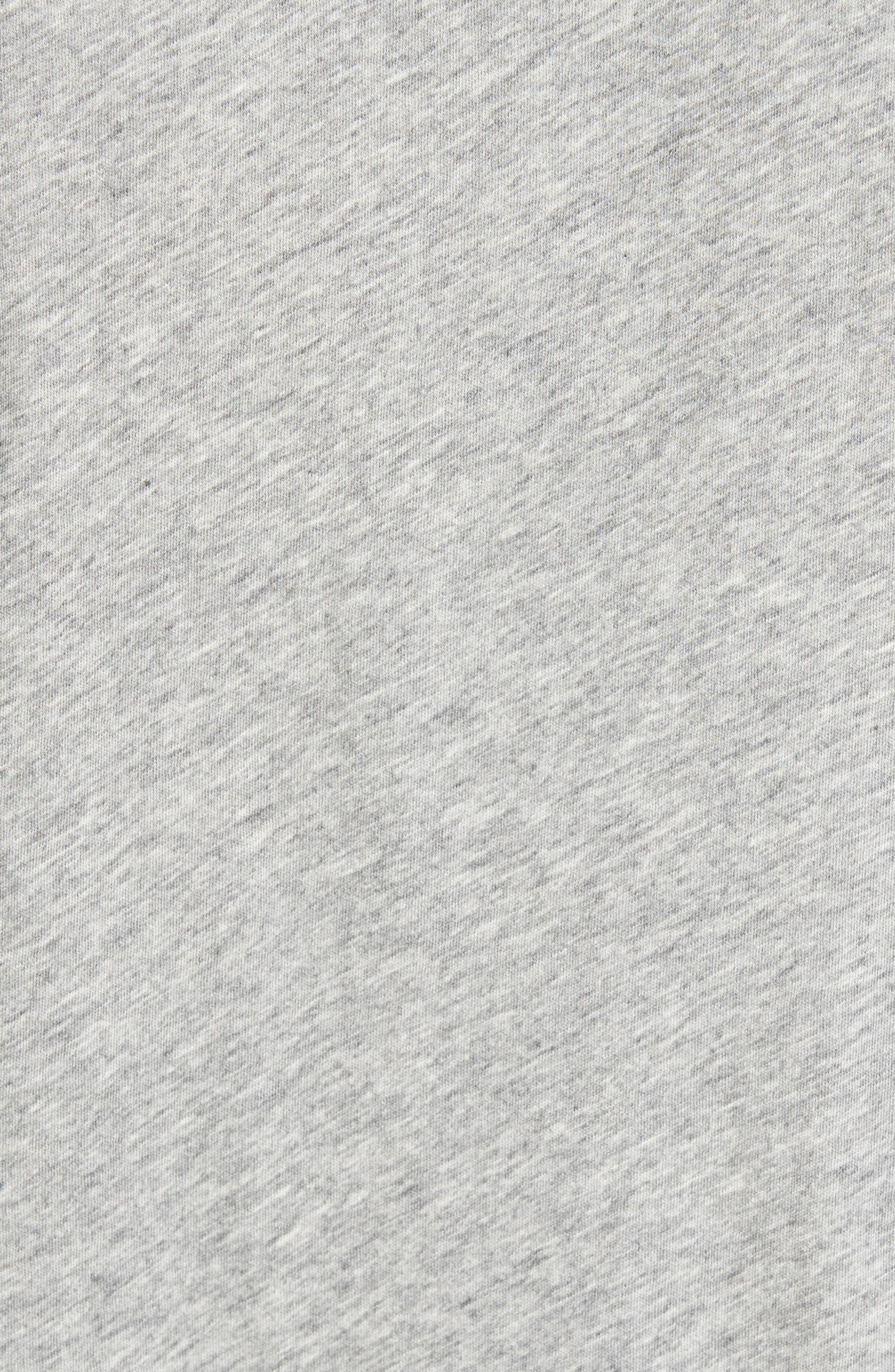 Breve Jersey Polo,                             Alternate thumbnail 5, color,                             Light Grey