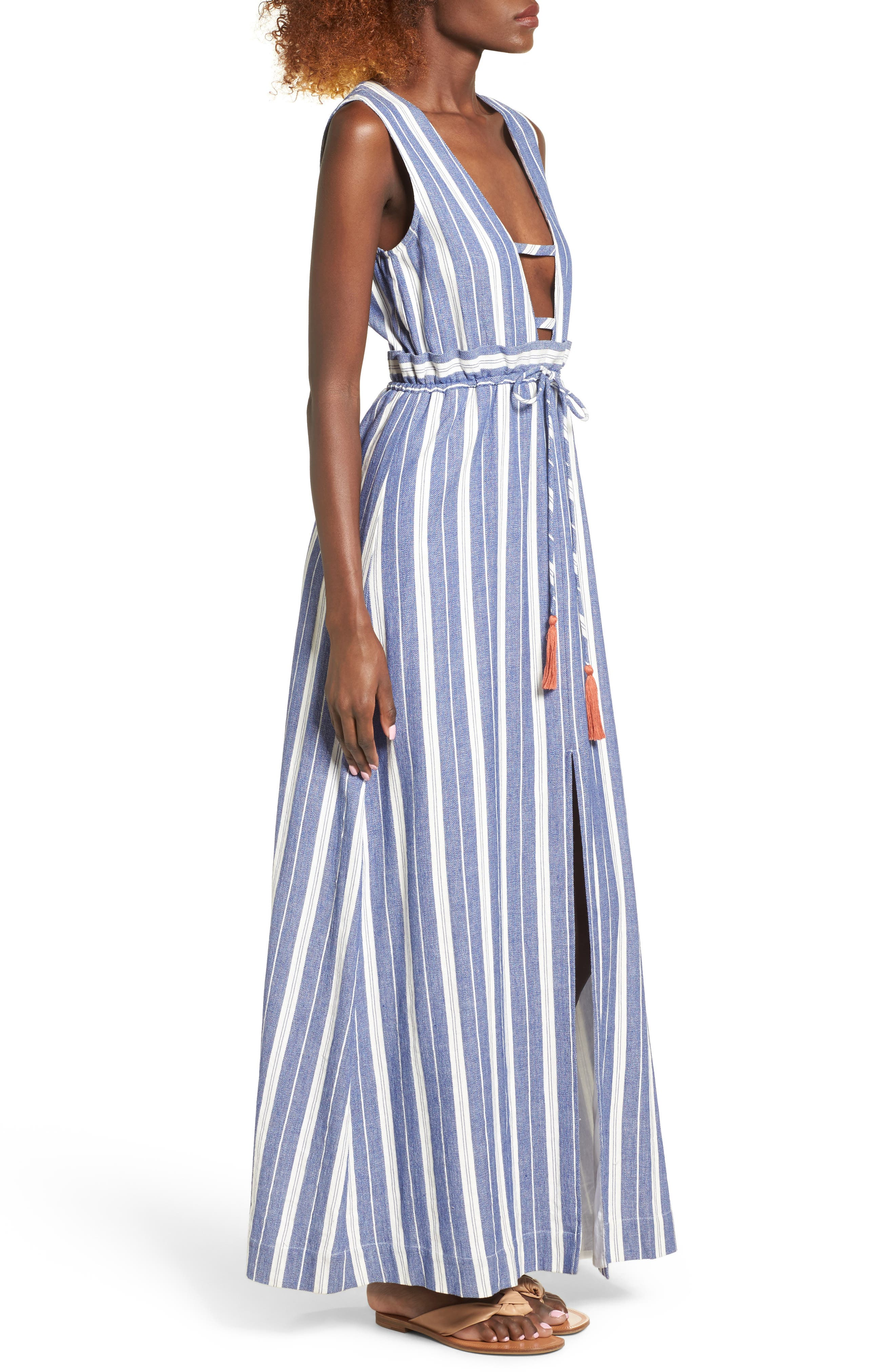 Alternate Image 4  - Tularosa Essie Stripe Maxi Dress