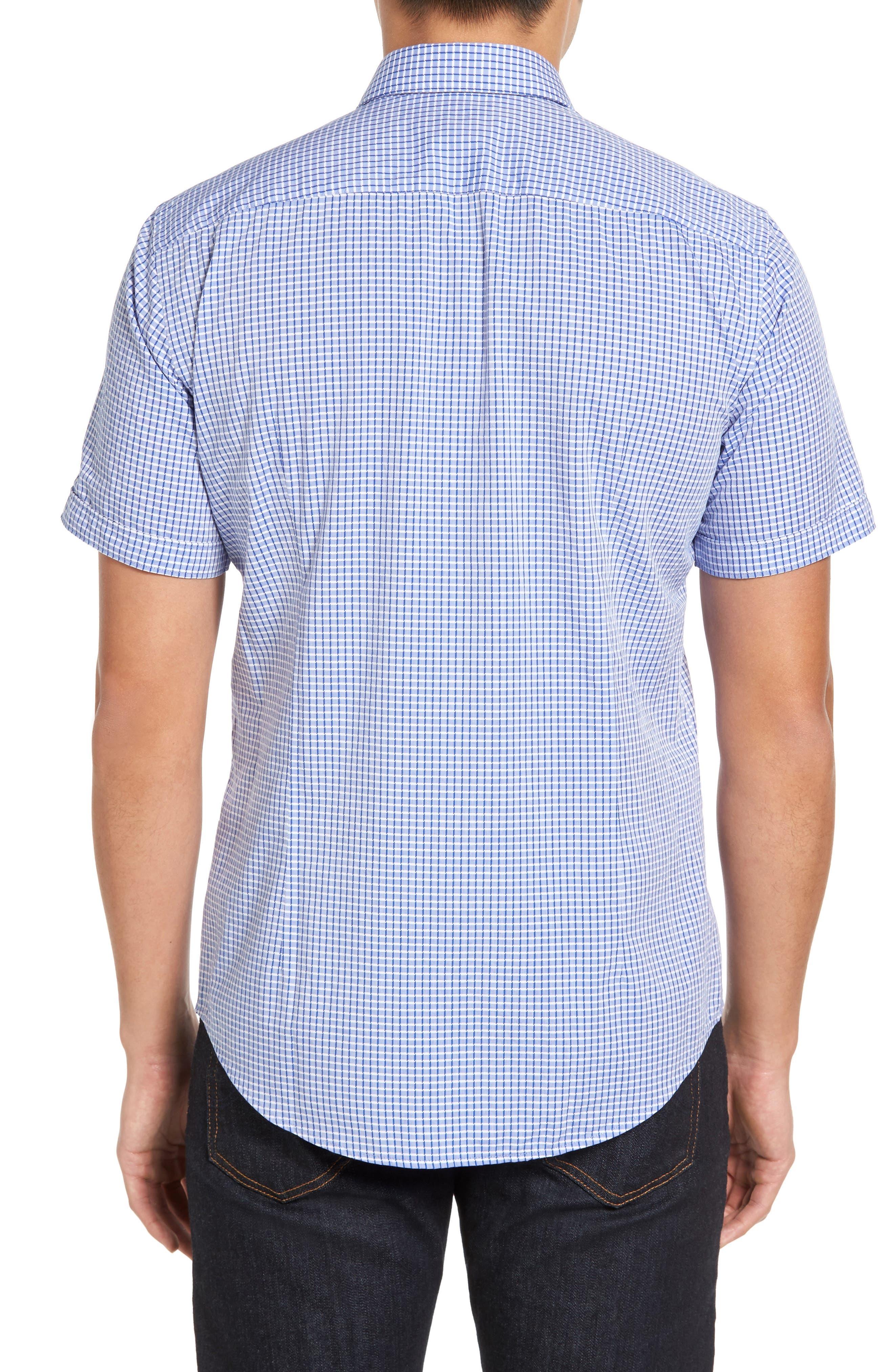 Alternate Image 2  - BOSS Ronn Check Sport Shirt